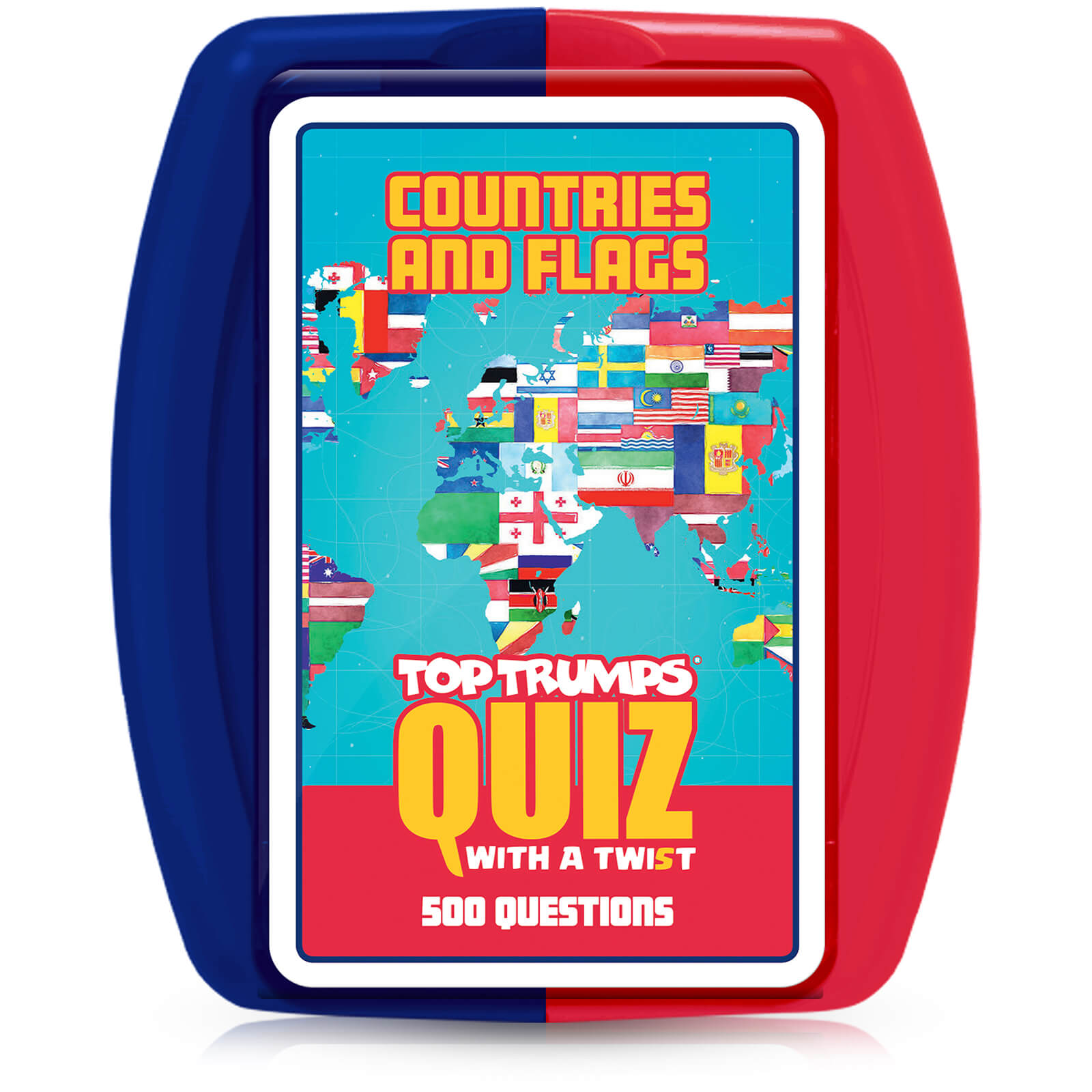 Image of Top Trumps Quiz Game - Countries and Flags Edition