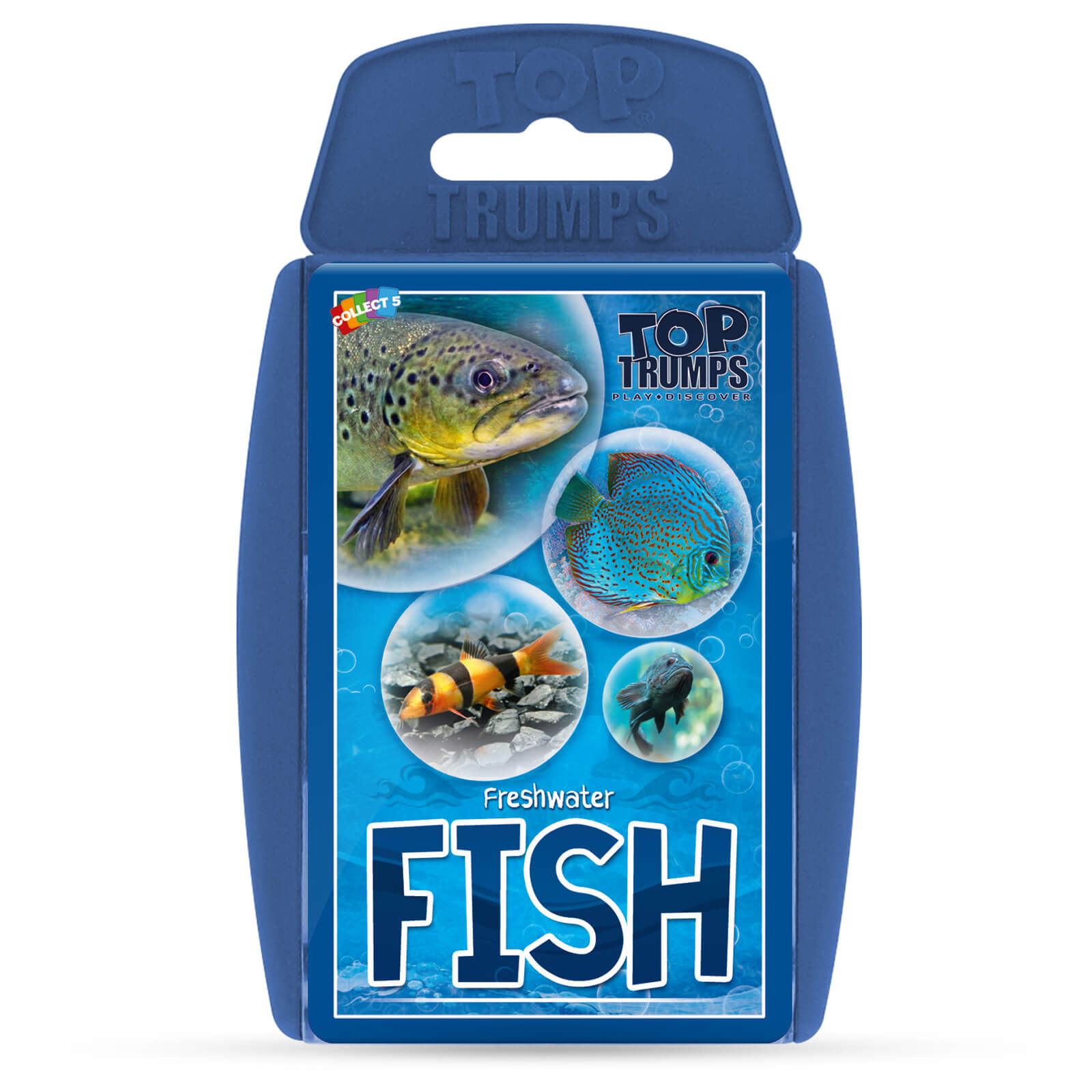 Image of Top Trumps Card Game - Freshwater Fish Edition