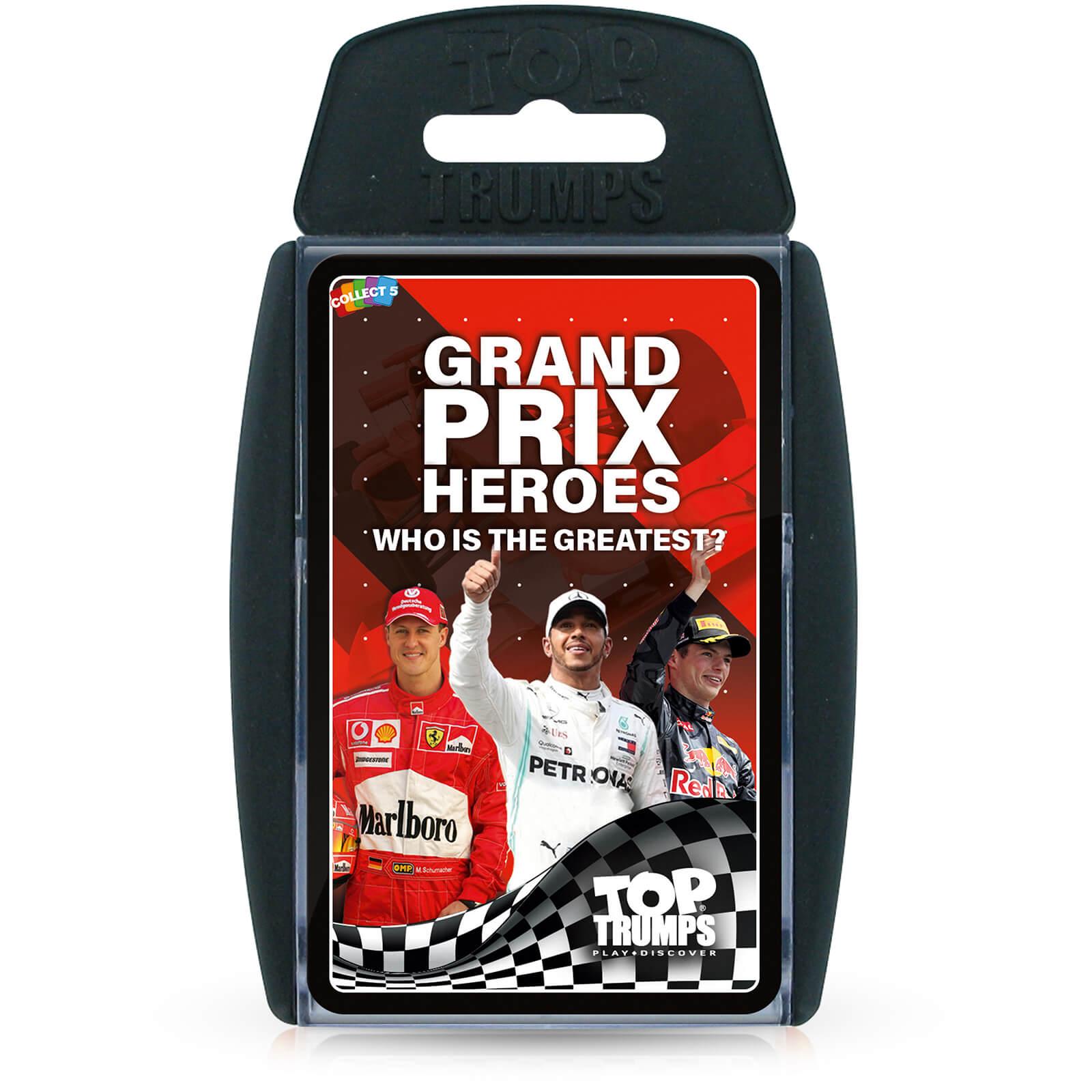 Image of Grand Prix Hero Top Trumps Card Game