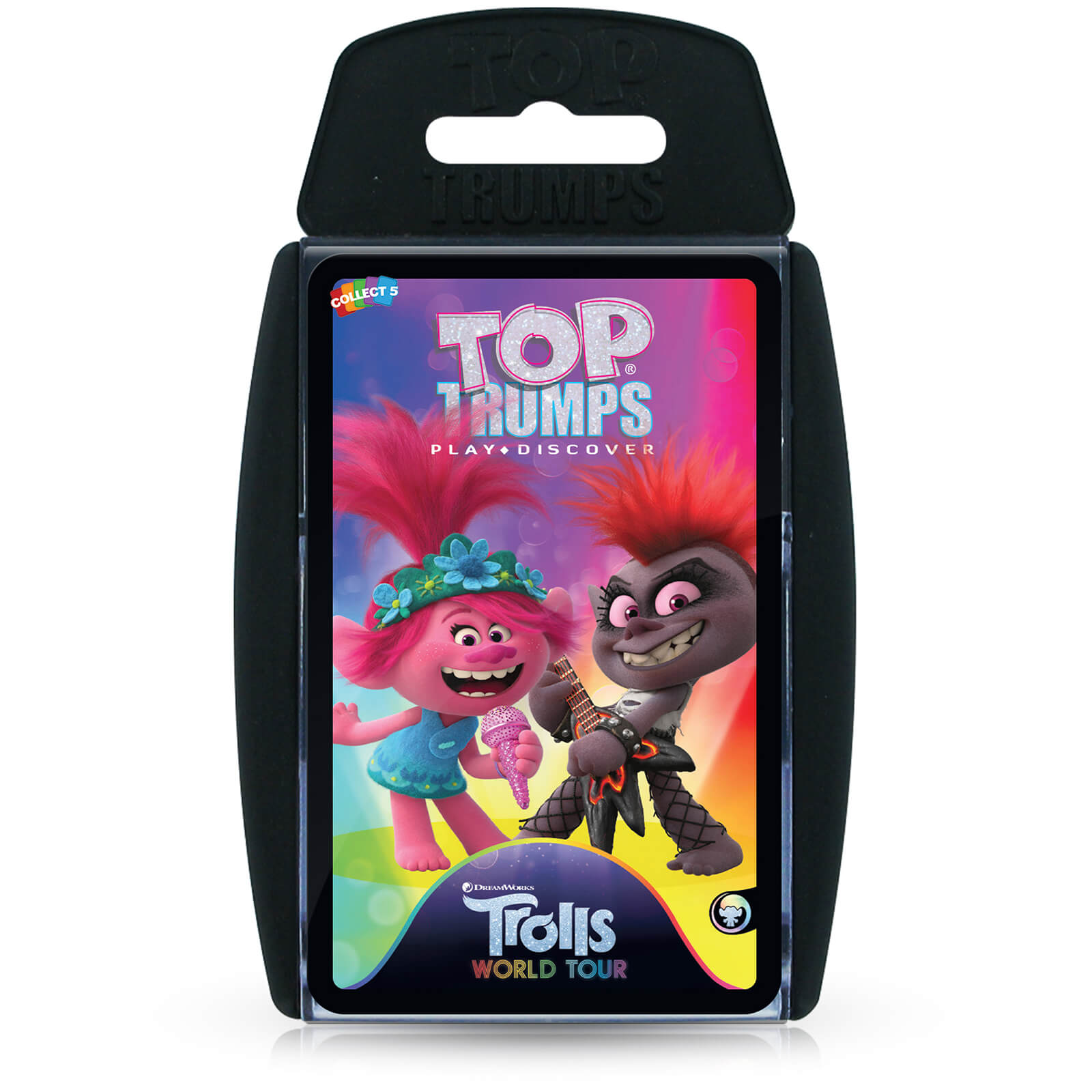 Image of Top Trumps Card Game - Trolls 2 Edition