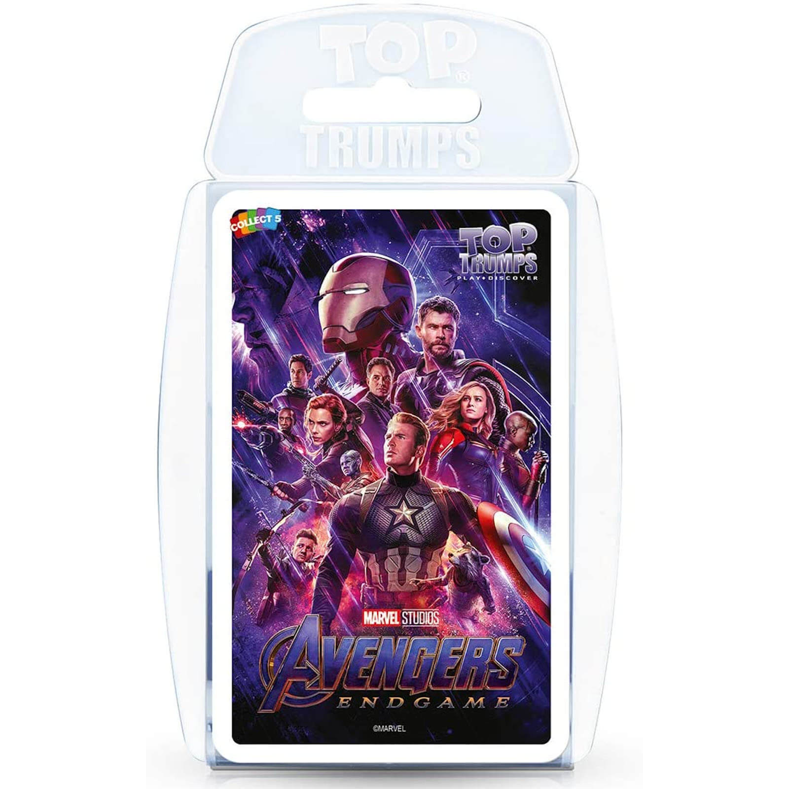 Image of Top Trumps Card Game - Marvel Avengers Endgame Edition