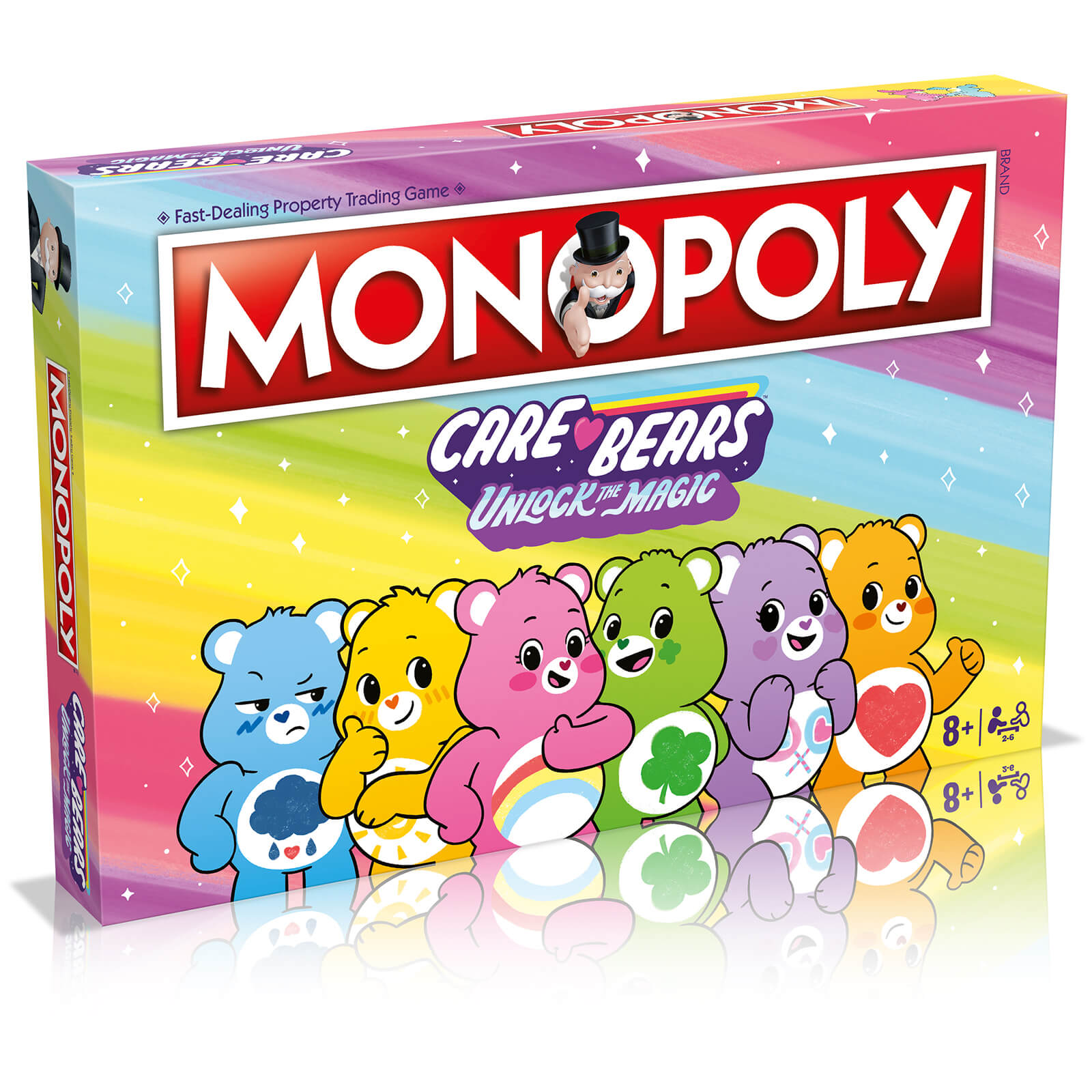 Image of Care Bears Monopoly Board Game