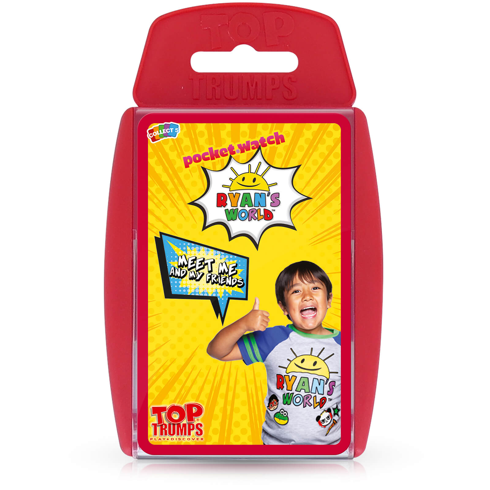 Image of Top Trumps Card Game - Ryans World Edition