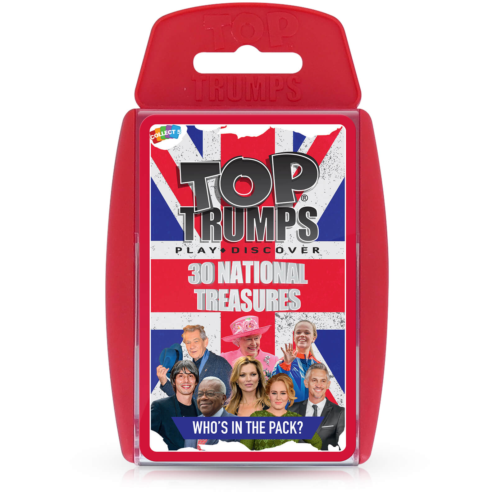 Image of Top Trumps Card Game - National Treasures Edition
