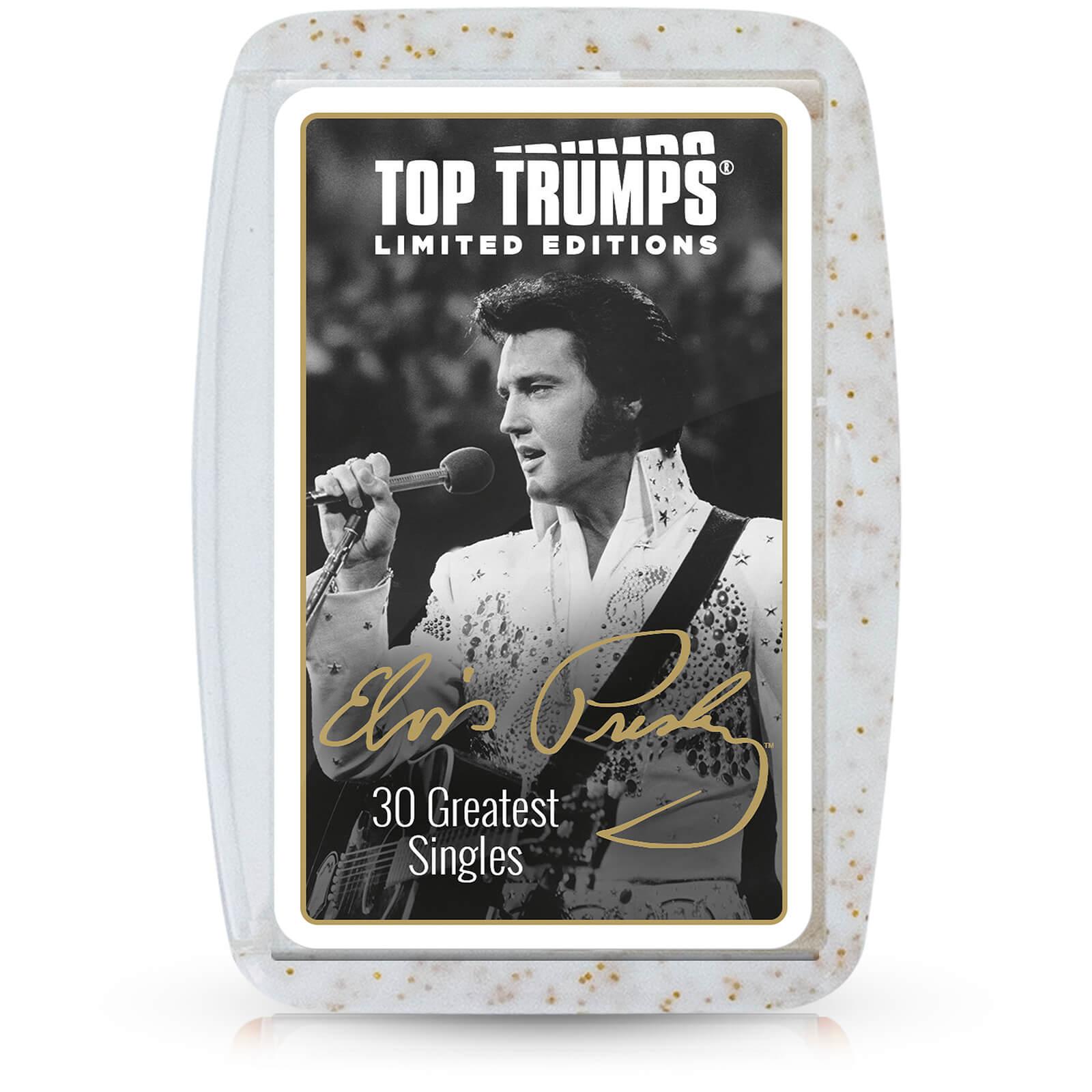 Image of Top Trumps Premium Card Game - Elvis Presley Edition