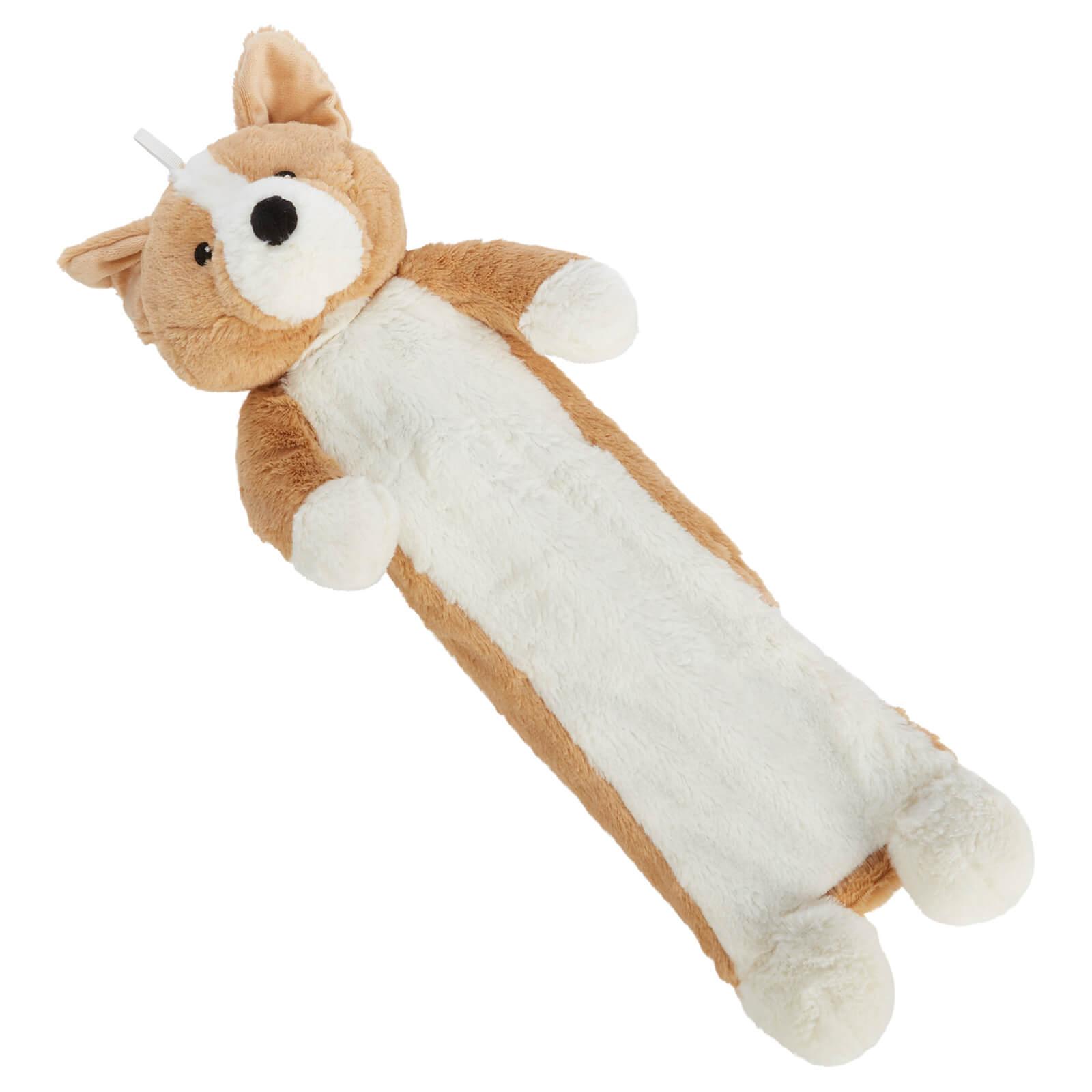 Image of Extra Long Corgi Dog Hot Water Bottle