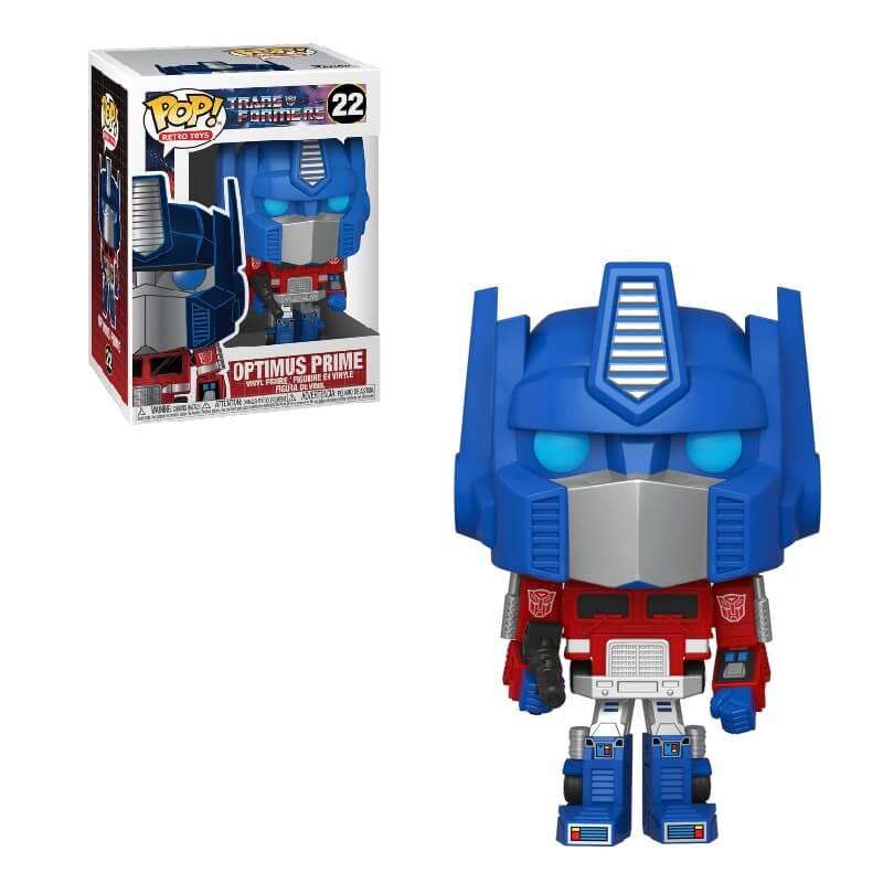Transformers Optimus Prime Figura Pop! Vinyl