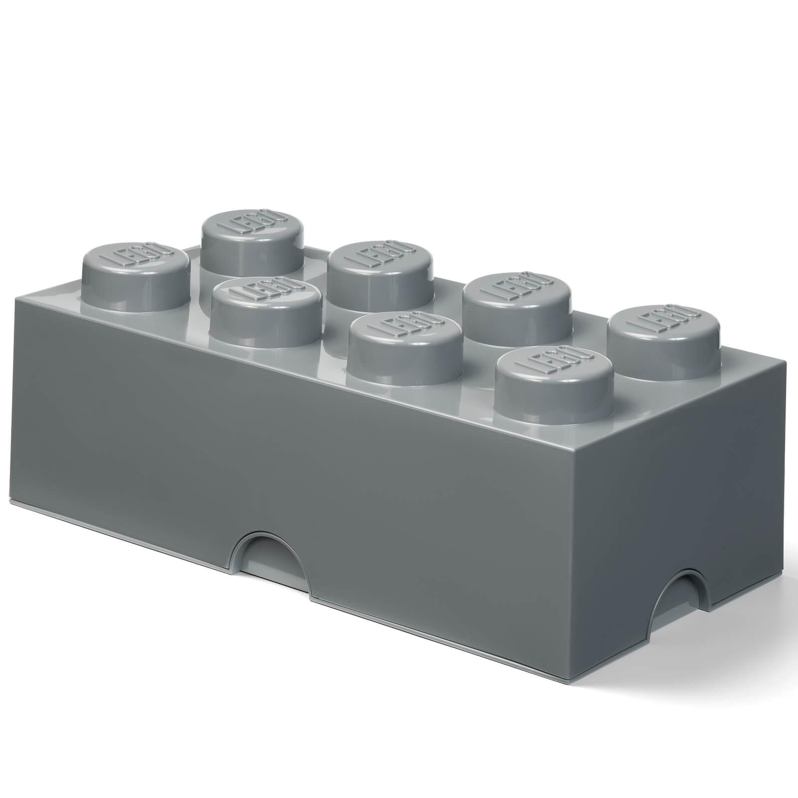 LEGO Storage Brick 8 - Dark Grey