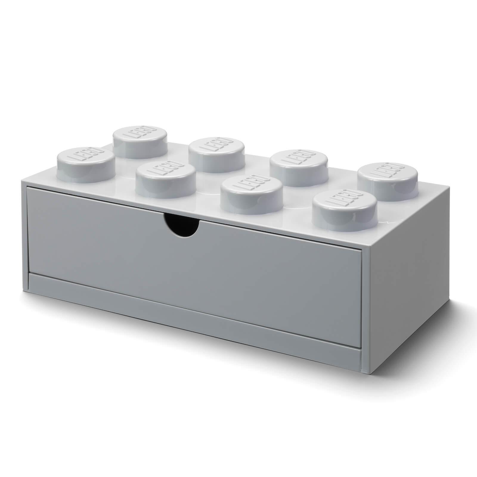 Image of LEGO Storage Desk Drawer 8 - Grey