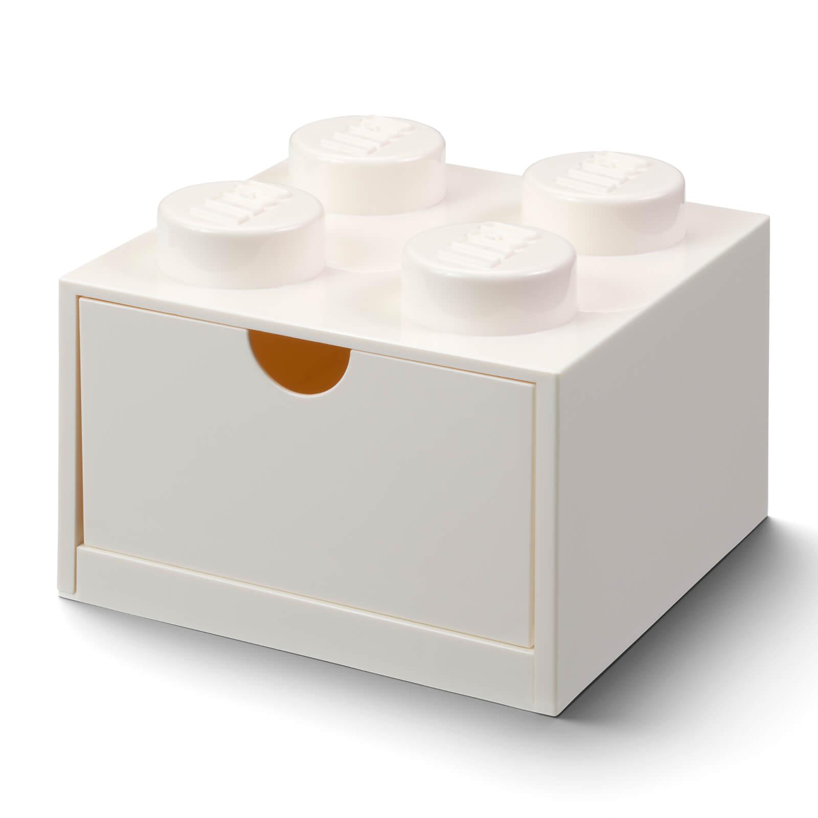 Image of LEGO Storage Desk Drawer 4 - White