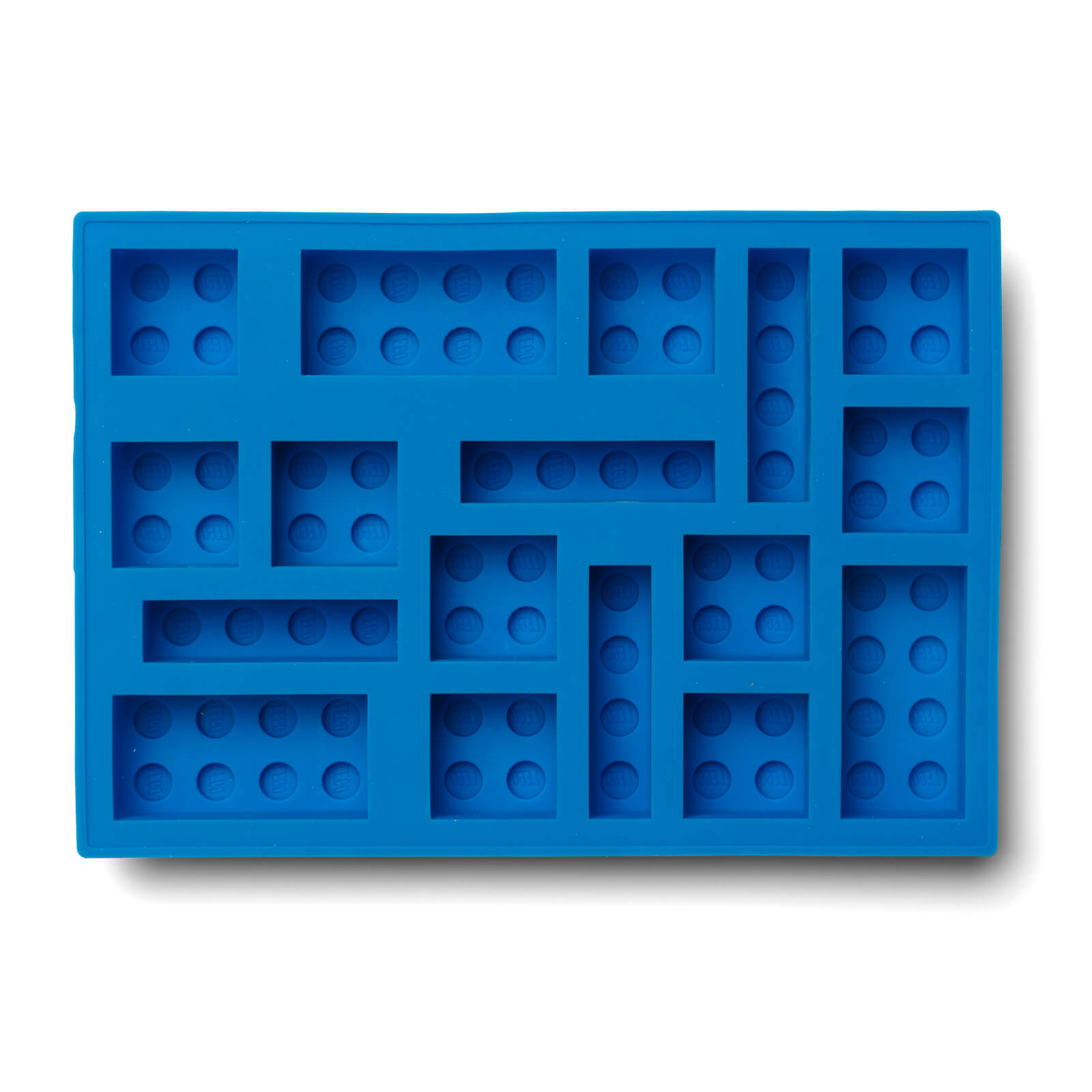 Image of LEGO Ice Cube Tray - Blue