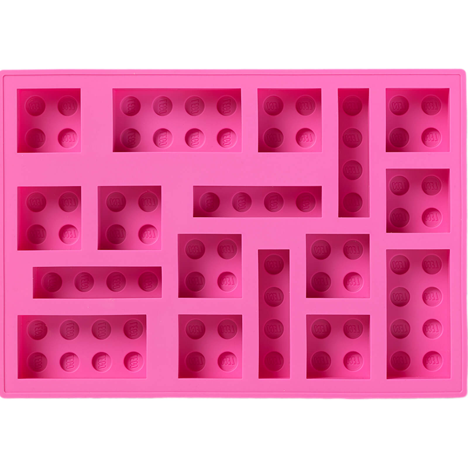 LEGO Ice Cube Tray   Pink