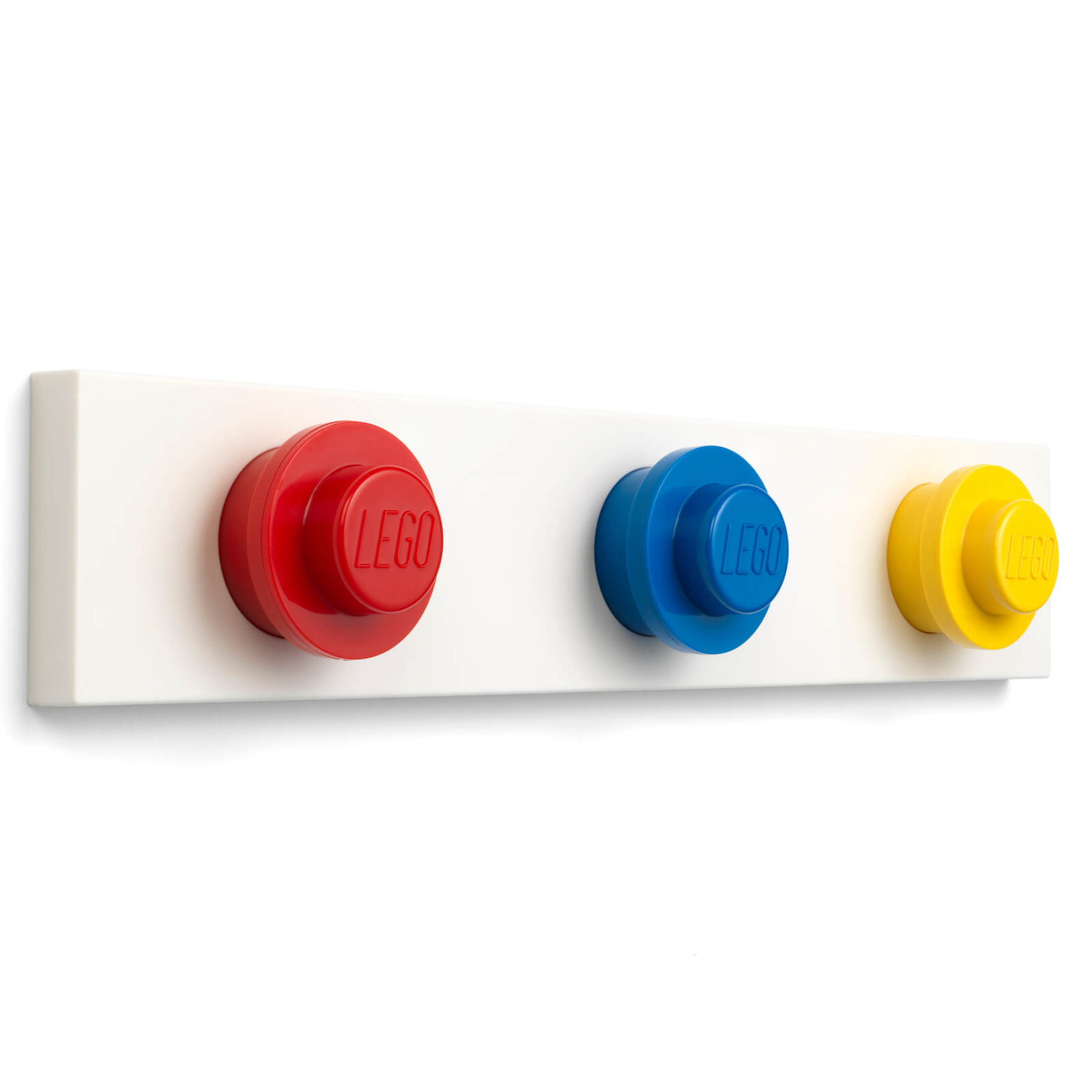 Image of LEGO Storage Wall Hanger Rack - Red