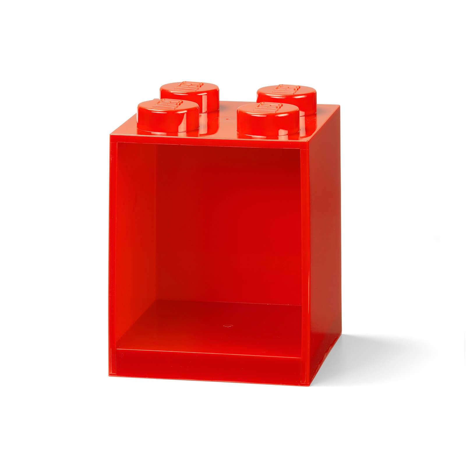 Image of LEGO Storage Brick Shelf 4 - Red