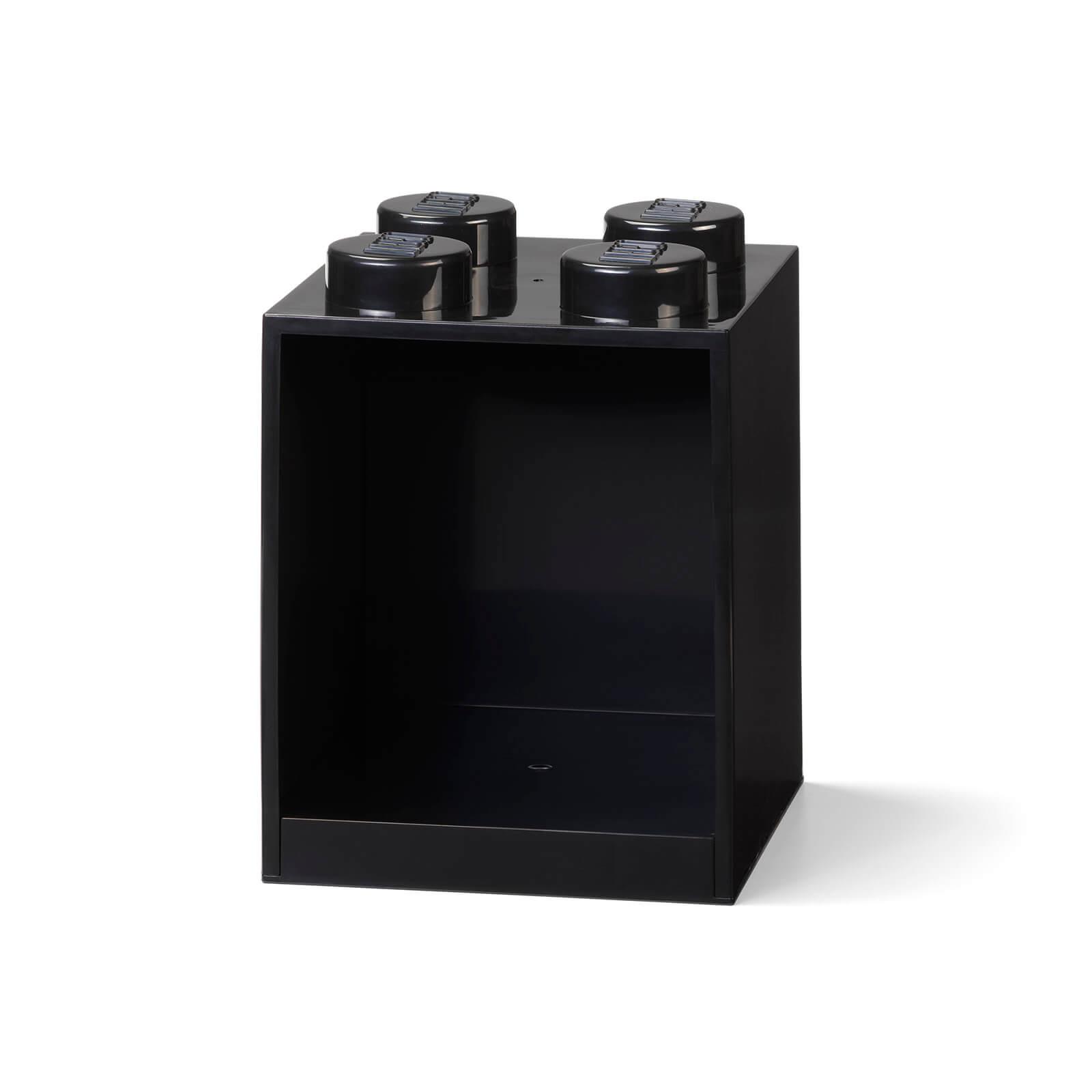 Image of LEGO Storage Brick Shelf 4 - Black