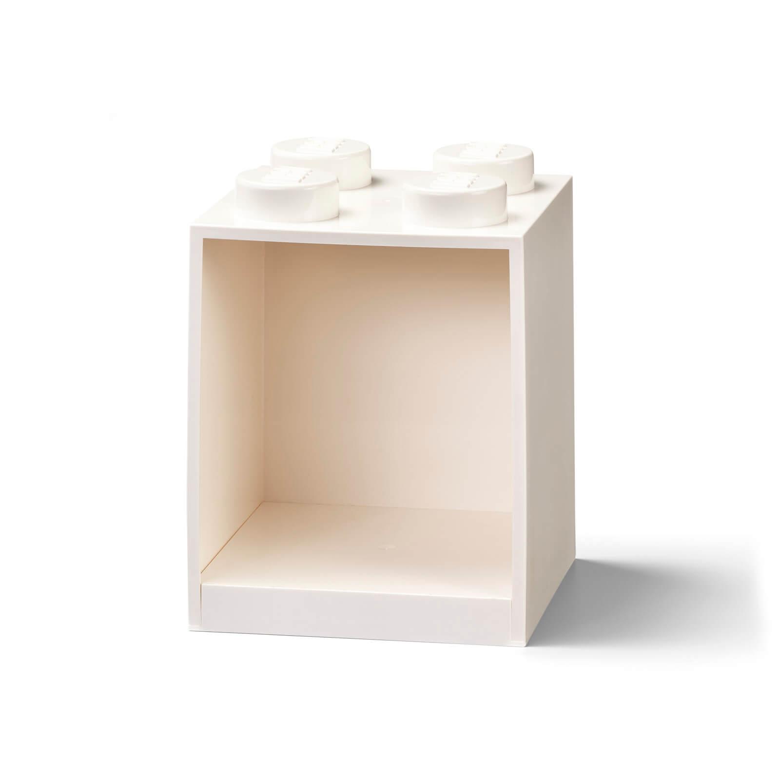 Image of LEGO Storage Brick Shelf 4 - White