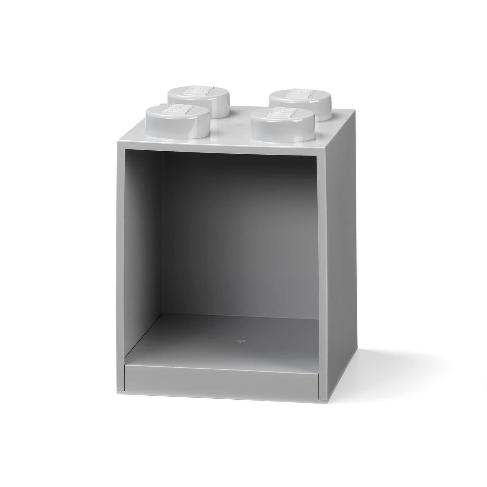 Image of LEGO Storage Brick Shelf 4 - Grey