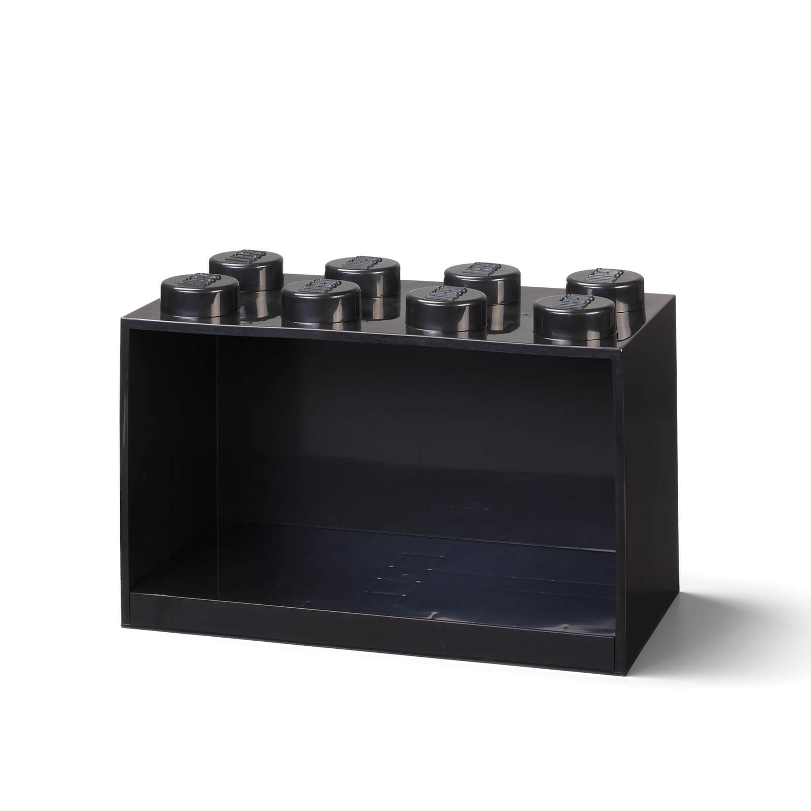 Image of LEGO Storage Brick Shelf 8 - Black