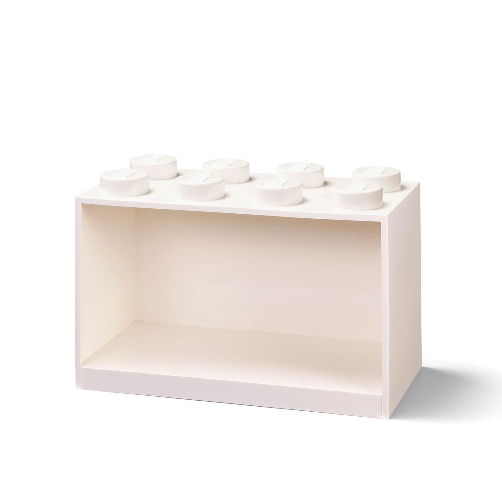 Image of LEGO Storage Brick Shelf 8 - White