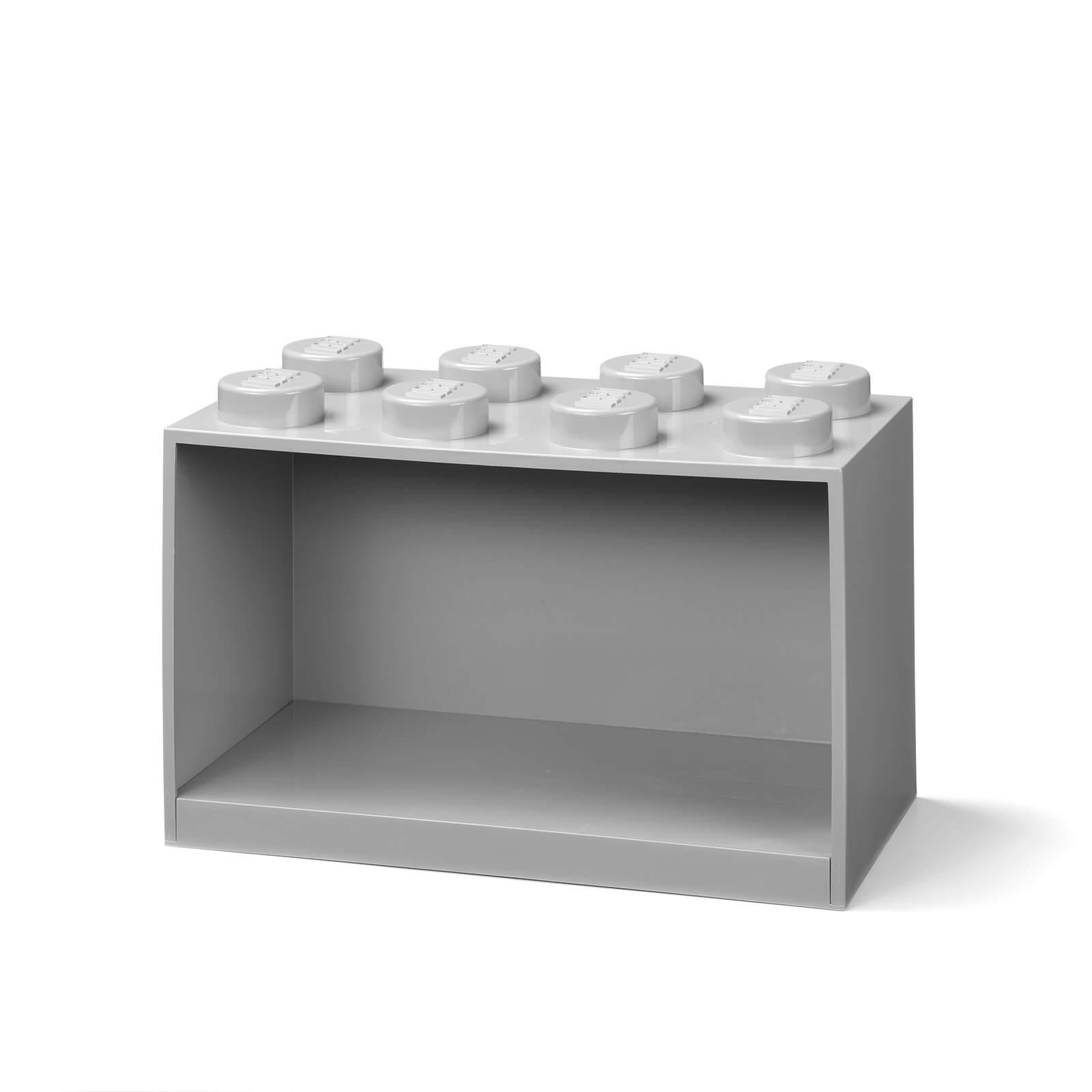 Image of LEGO Storage Brick Shelf 8 - Grey