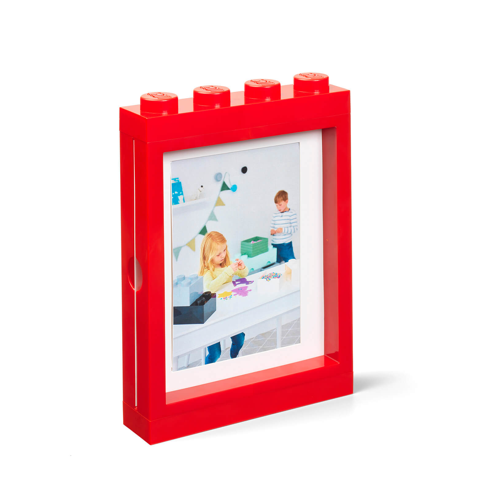 Image of LEGO Picture Frame - Red