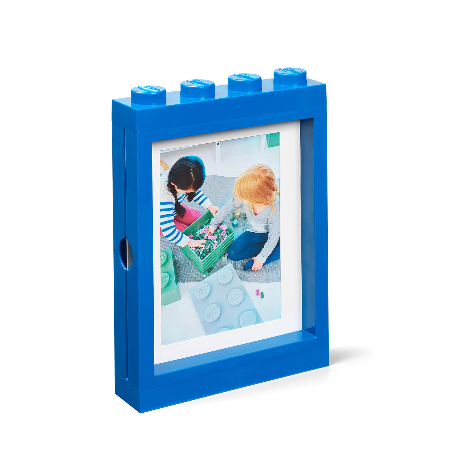 Image of LEGO Picture Frame - Blue