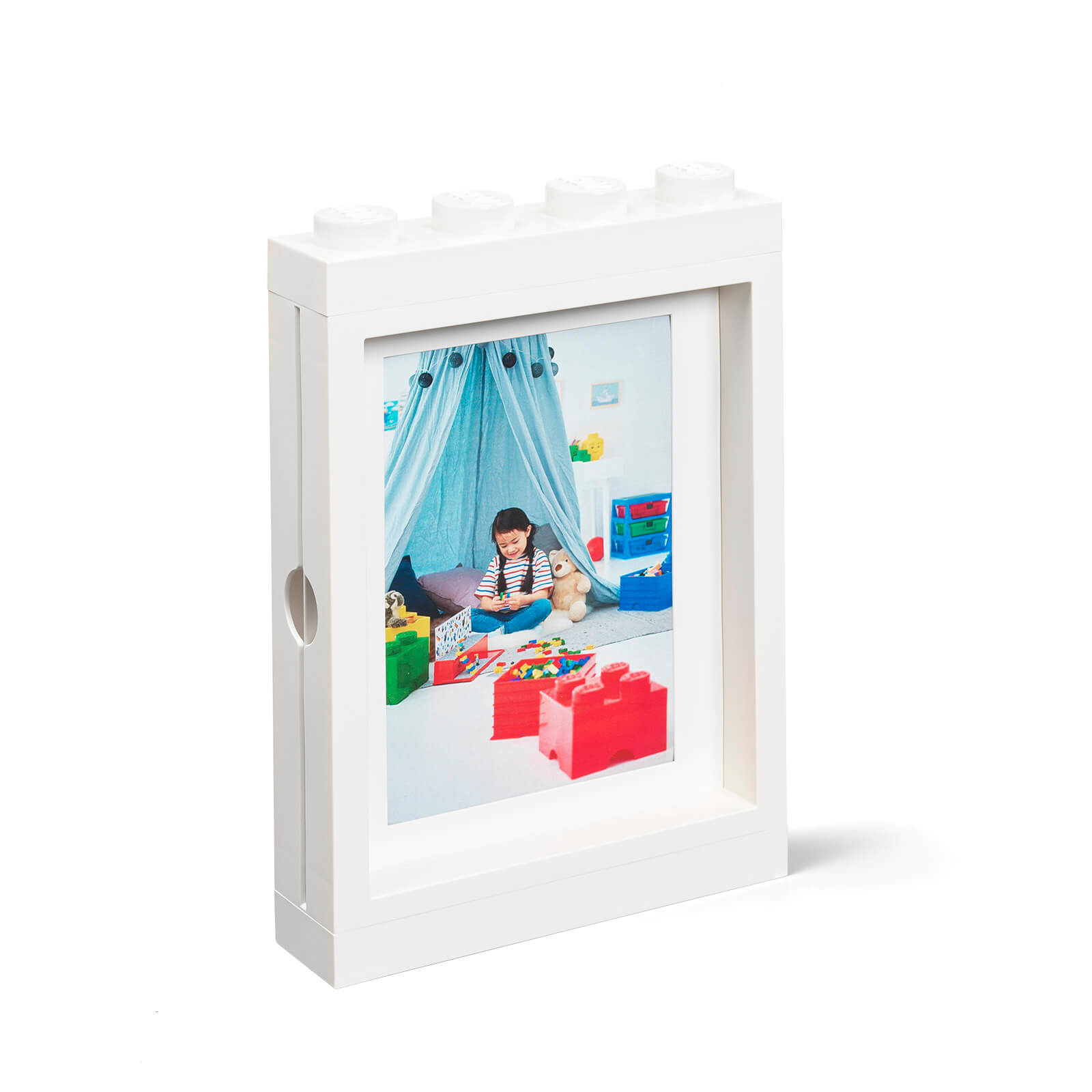 Image of LEGO Picture Frame - White