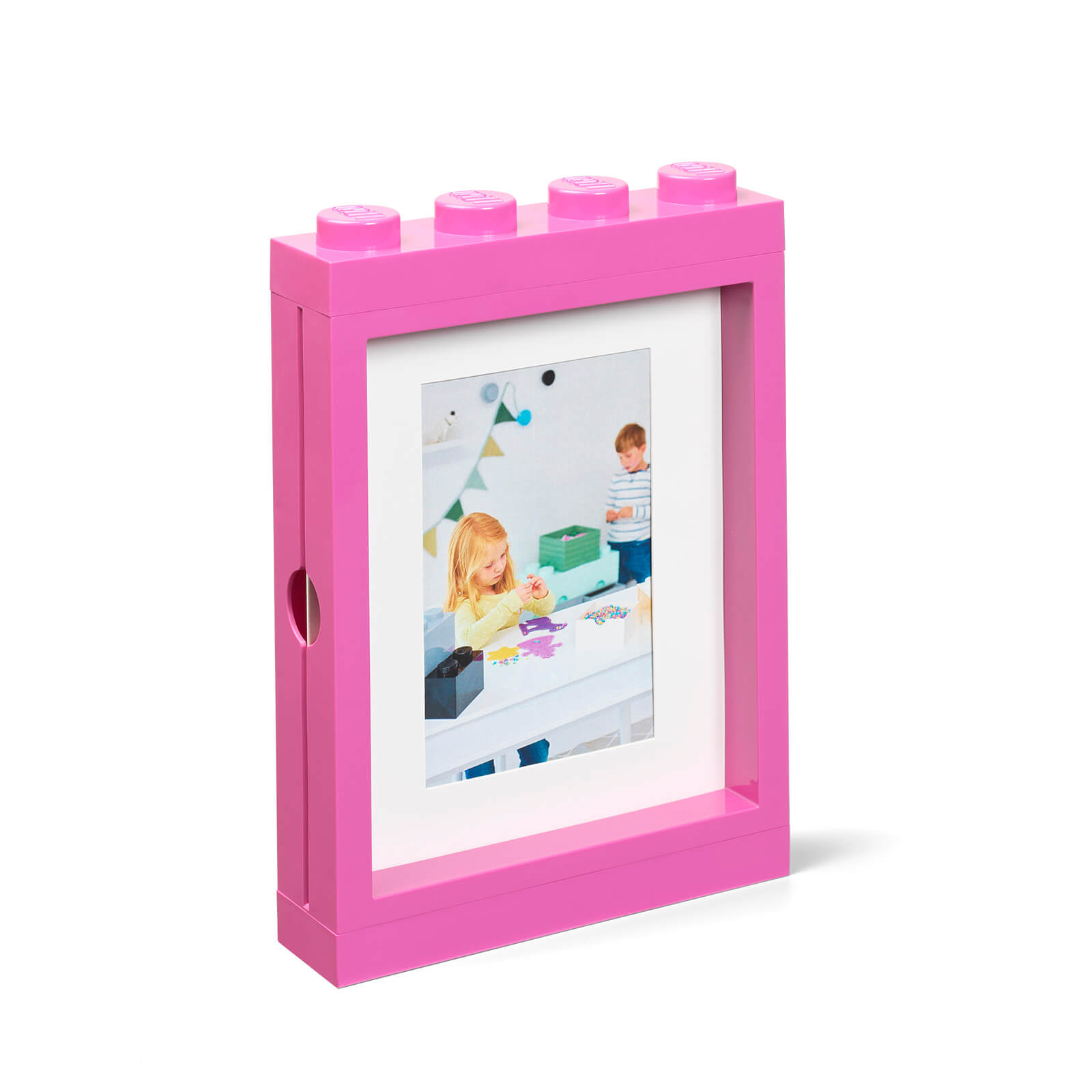 Image of LEGO Picture Frame - Pink