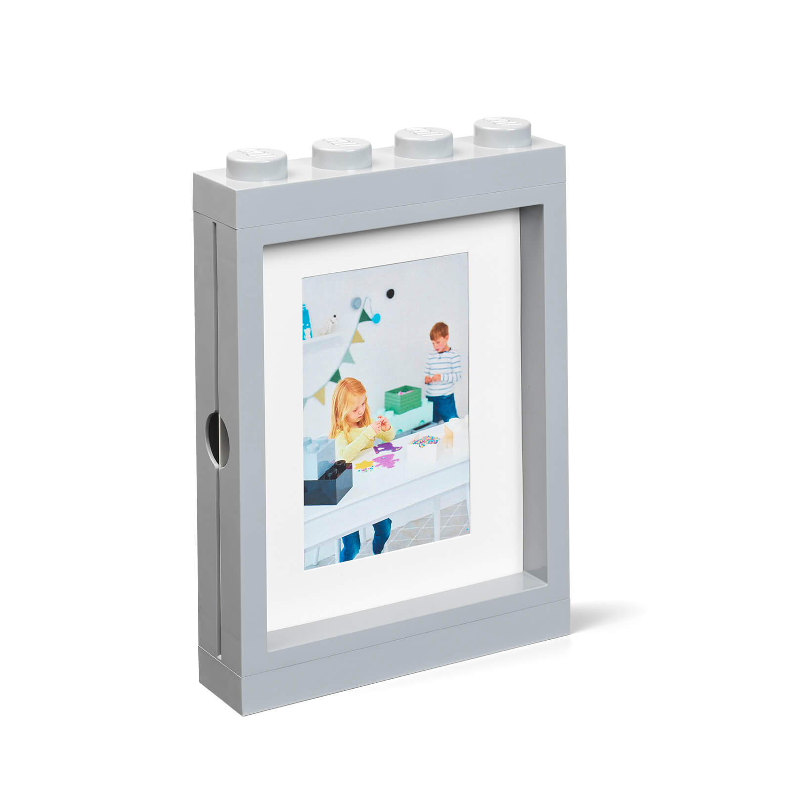 Image of LEGO Picture Frame - Grey