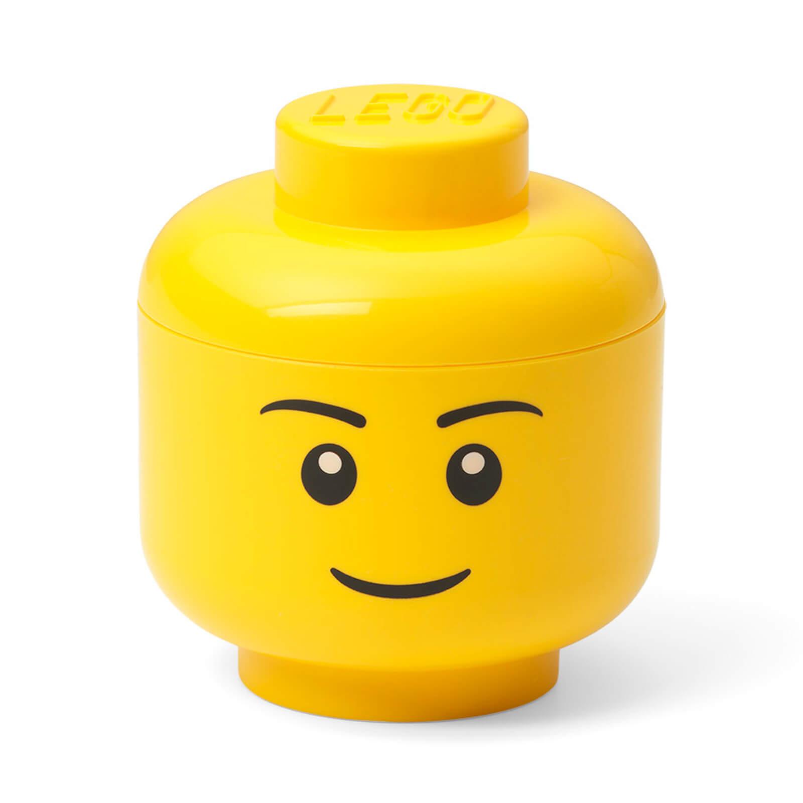 Image of LEGO Storage Mini Head - Boy