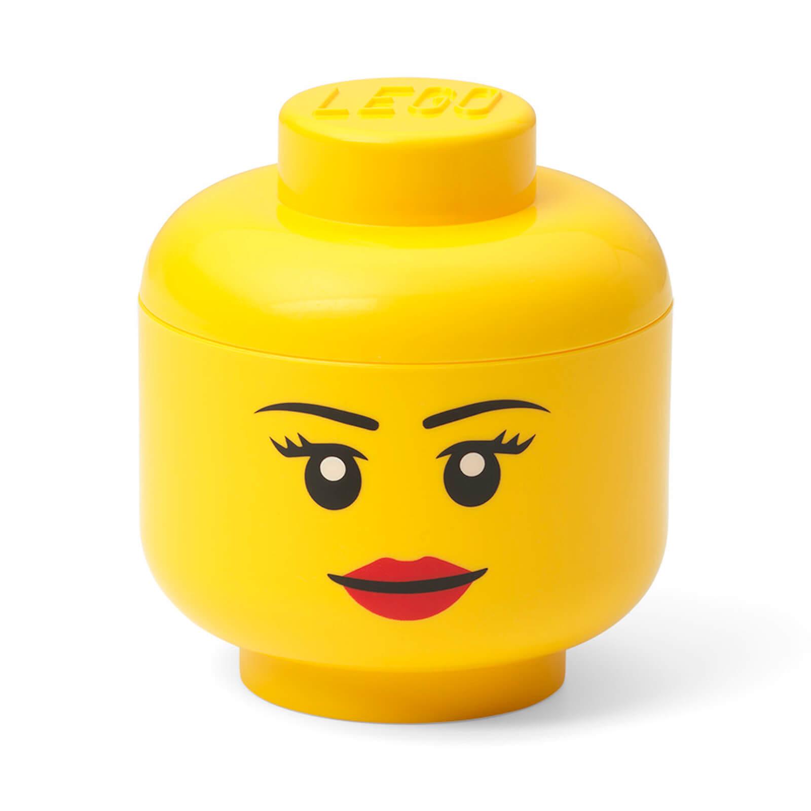 Image of LEGO Storage Mini Head - Girl