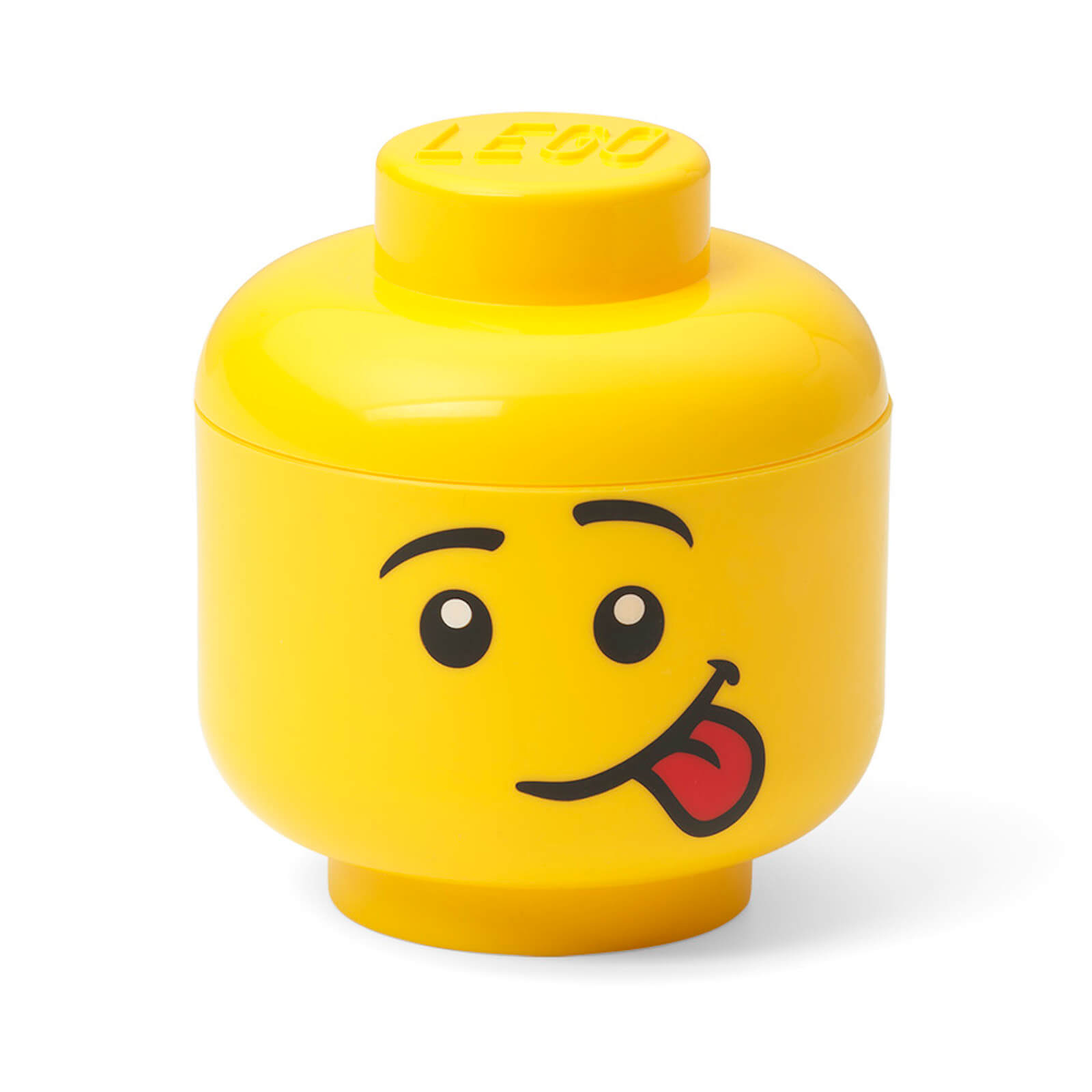 Image of LEGO Storage Mini Head - Silly