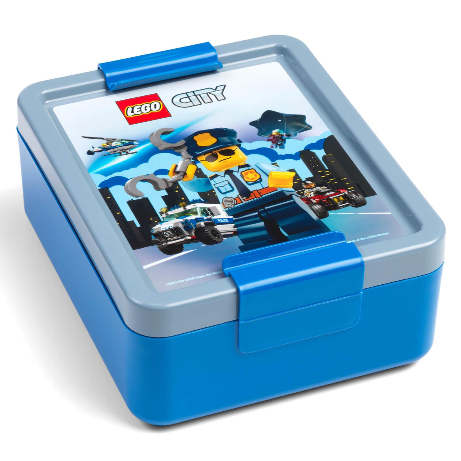 Image of LEGO Storage City Lunch Box