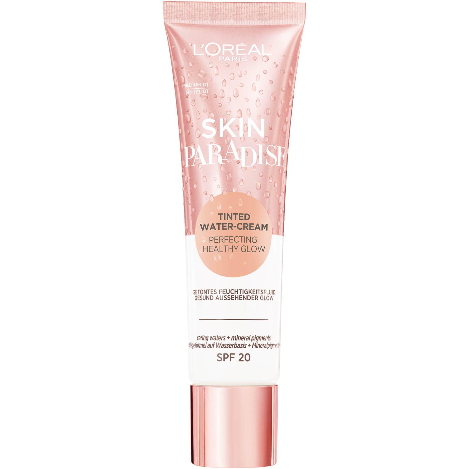 Купить L'Oréal Paris Skin Paradise Tinted Moisturiser SPF20 30ml (Various Shades) - Medium 01