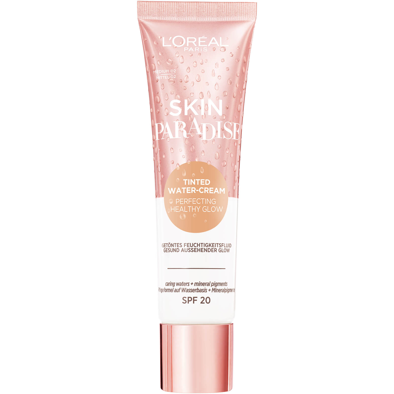 Купить L'Oréal Paris Skin Paradise Tinted Moisturiser SPF20 30ml (Various Shades) - Medium 02