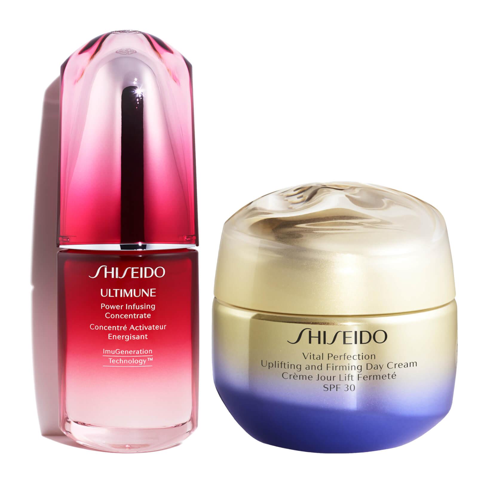 Купить Shiseido Vital Perfection Uplifting Day Cream and Ultimune 30ml Bundle