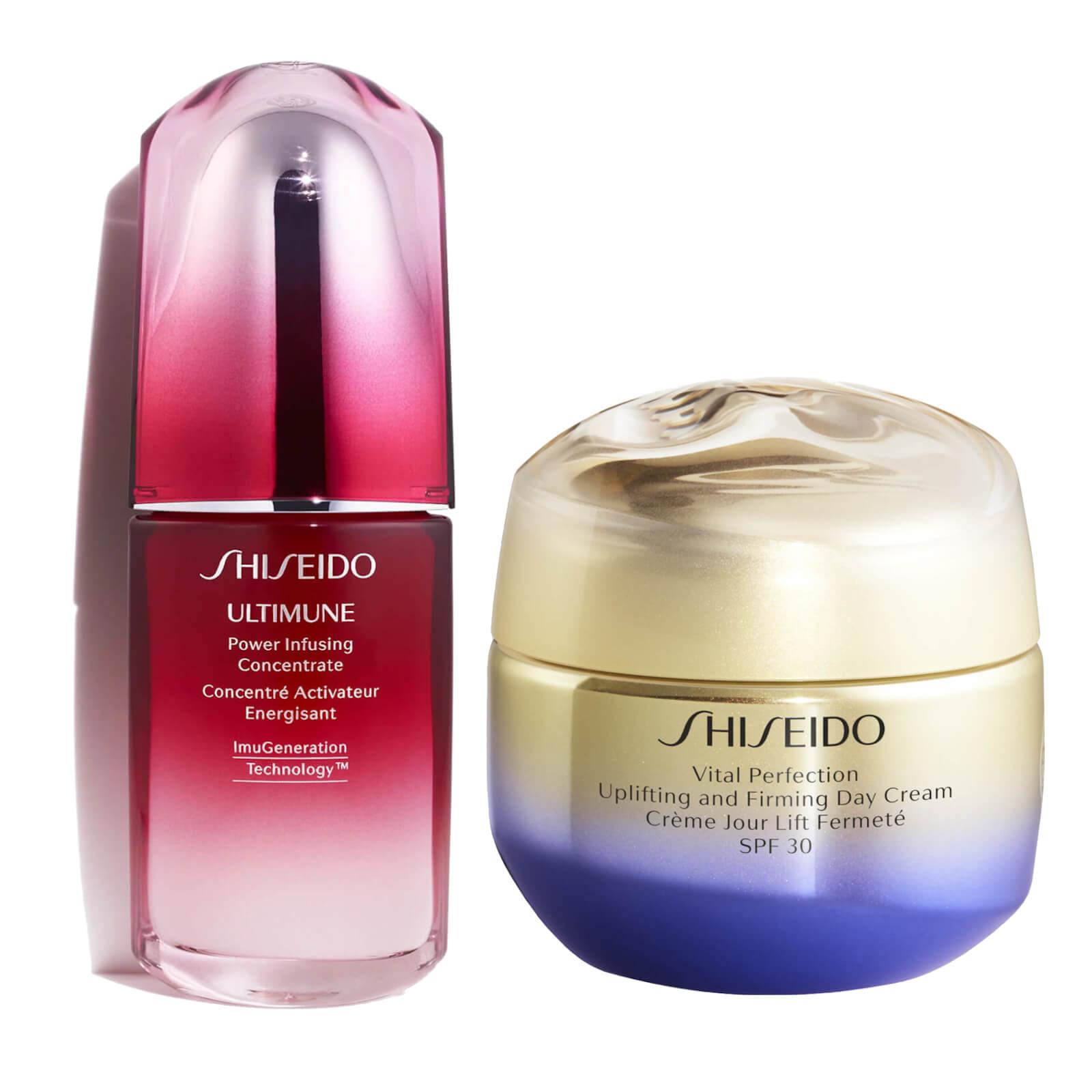 Купить Shiseido Vital Perfection Uplifting Day Cream and Ultimune 50ml Bundle