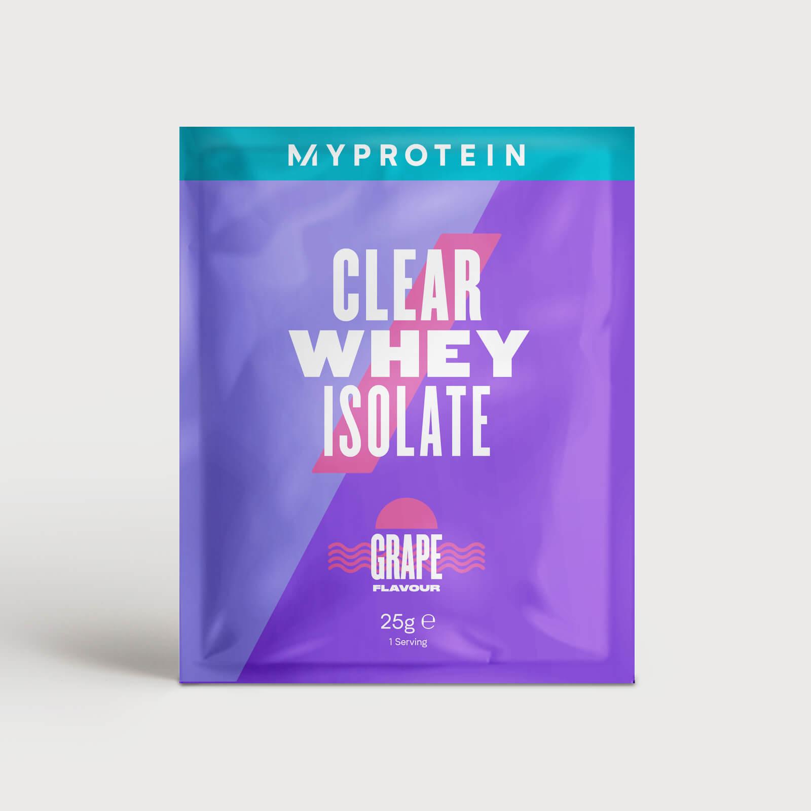 Clear Whey Isolate (Échantillon) - 25g - Raisin Rouge