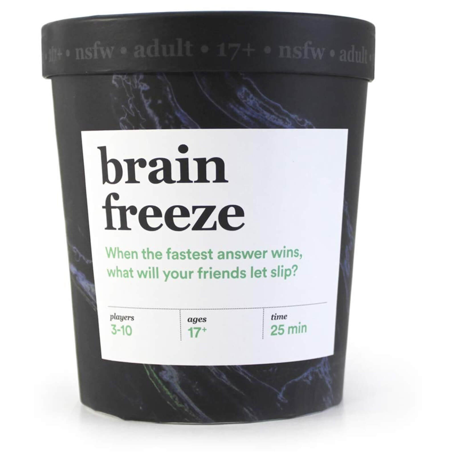 Image of Brain Freeze Card Game (NSFW Edition)