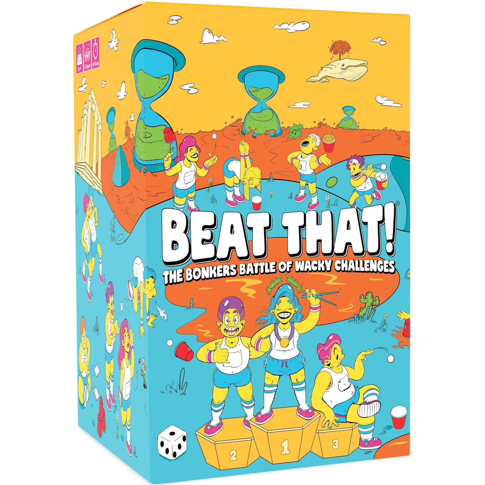 Image of Beat That! The Bonkers Battle of Wacky Challenges Card Game
