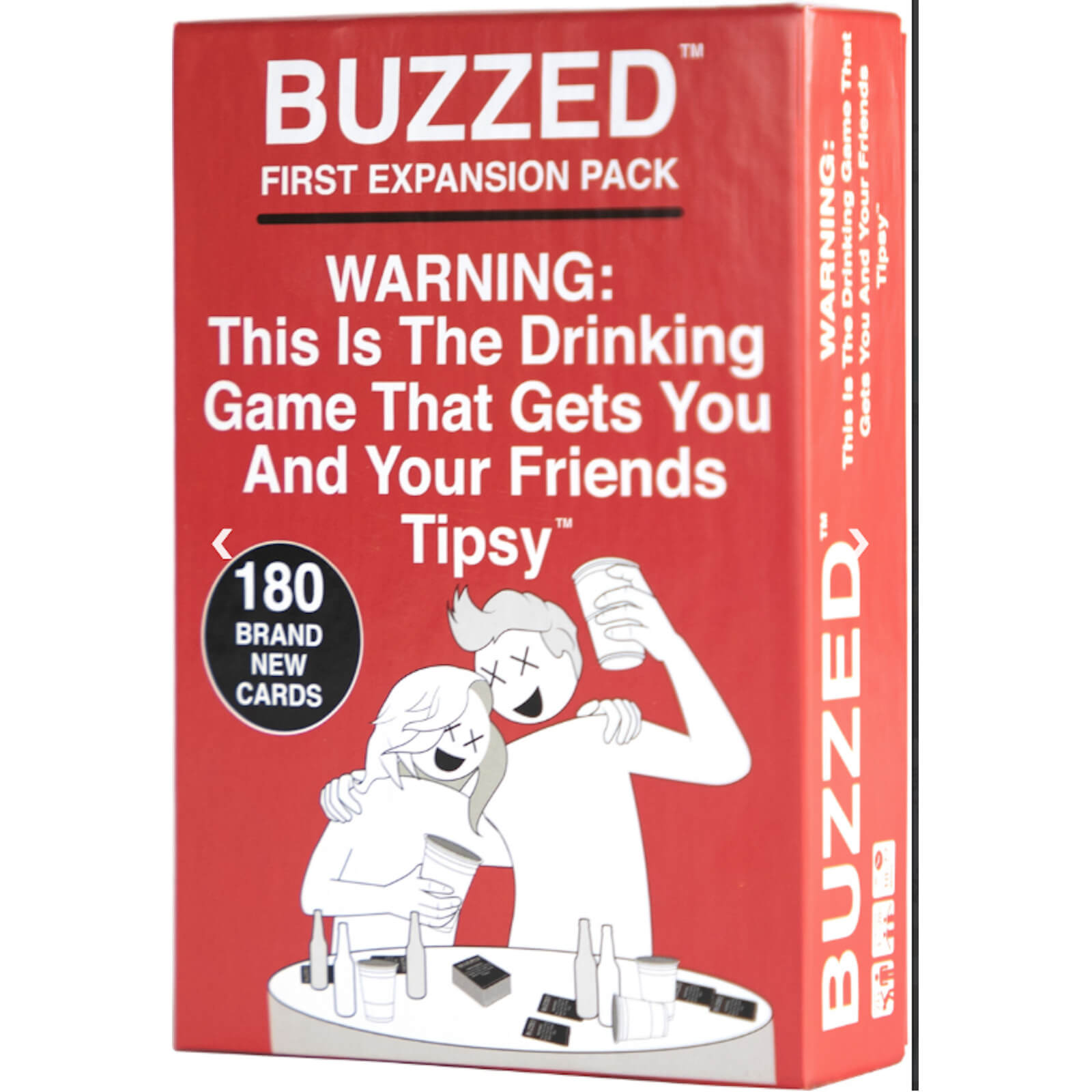 Image of Buzzed First Expansion Card Game