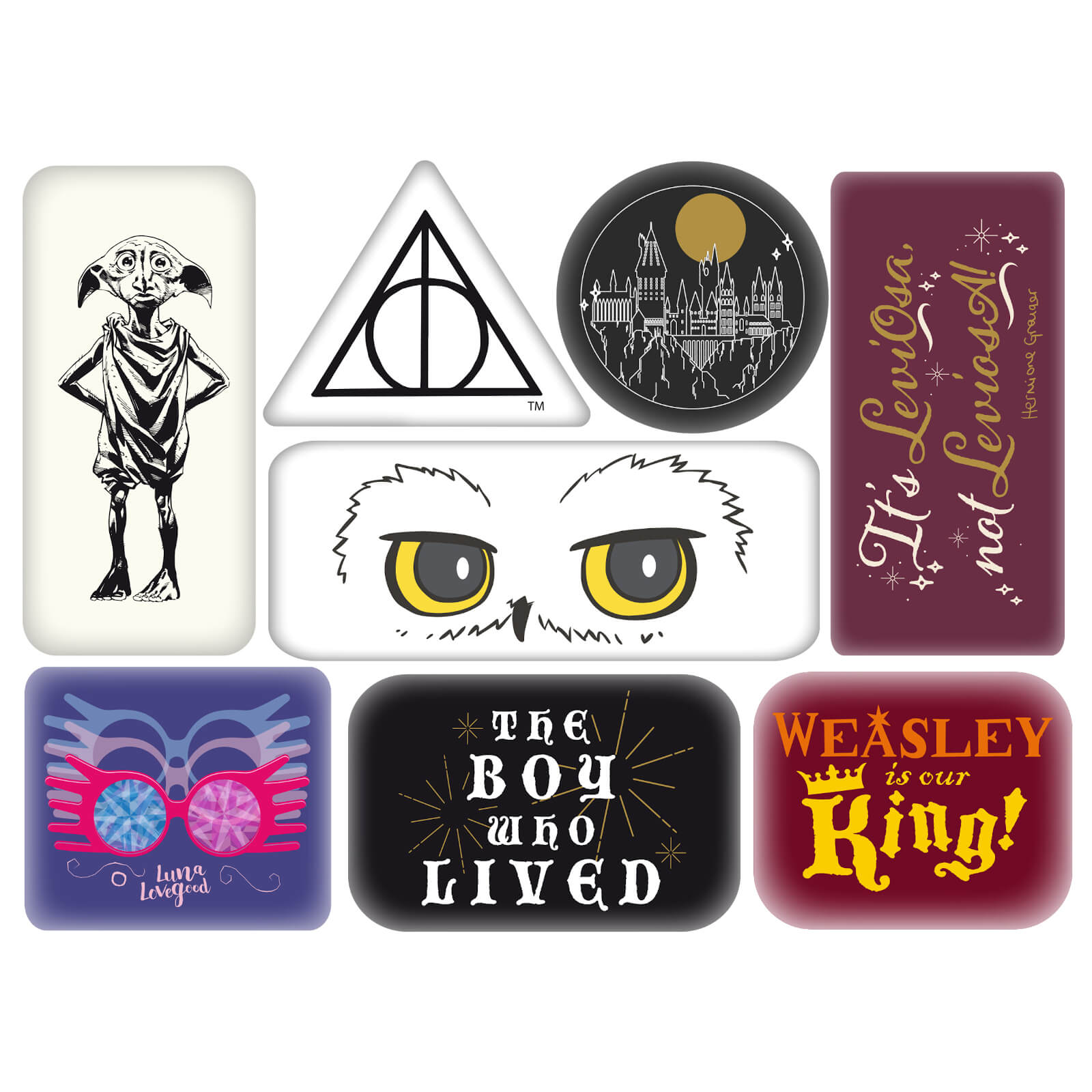 Image of Harry Potter Characters Magnet Set