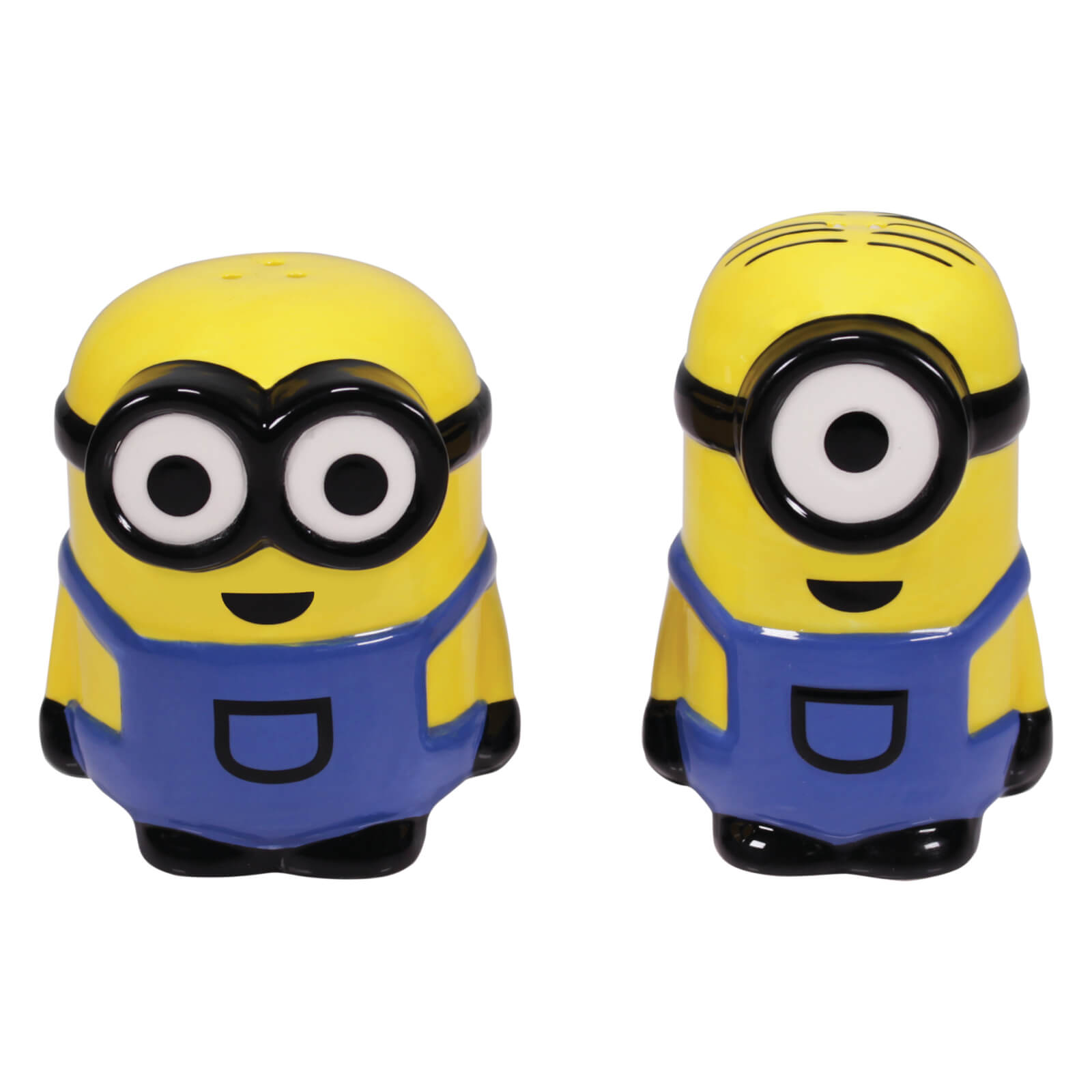 Image of Minions Shaped Salt and Pepper Shakers