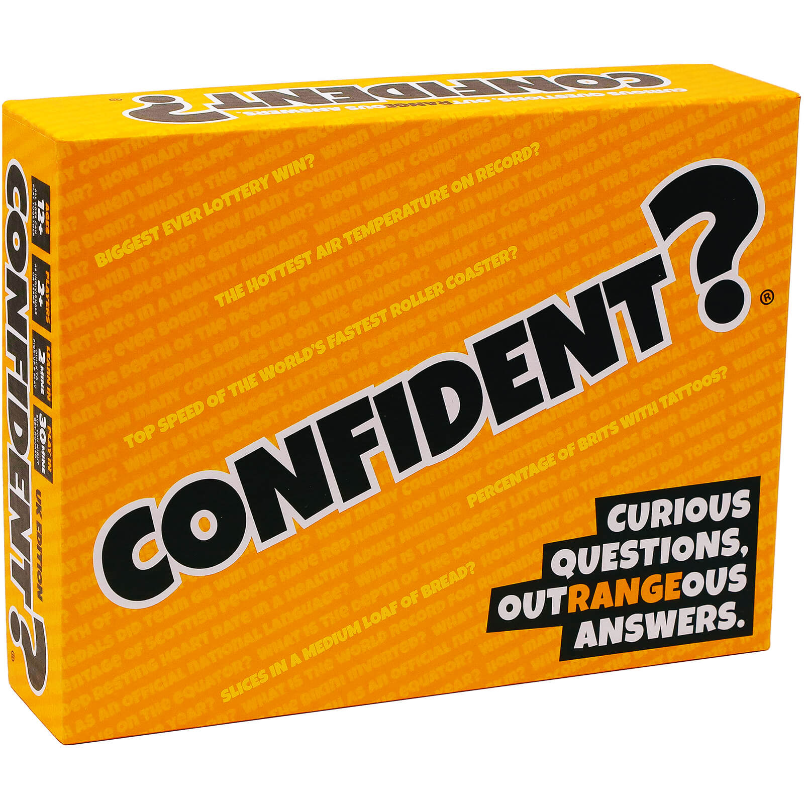 Image of Confident? UK Edition Board Game