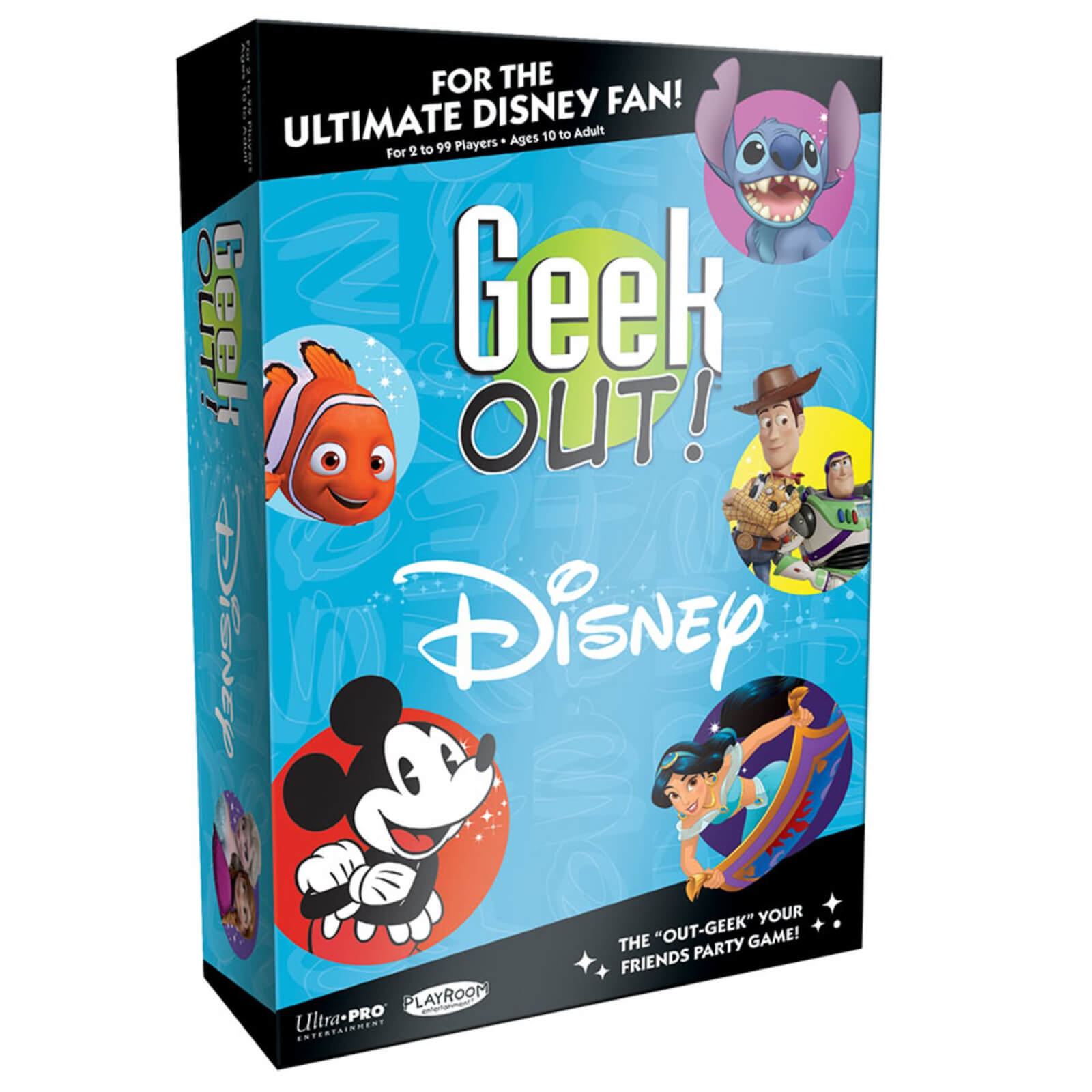 Image of Disney Geek Out! Board Game