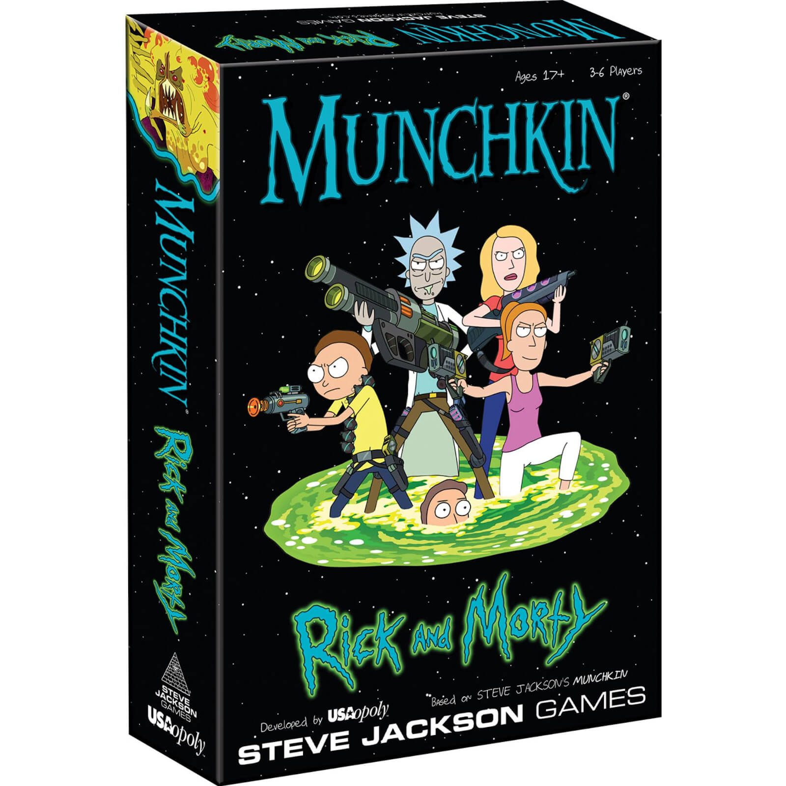 Image of Munchkin: Rick and Morty Card Game
