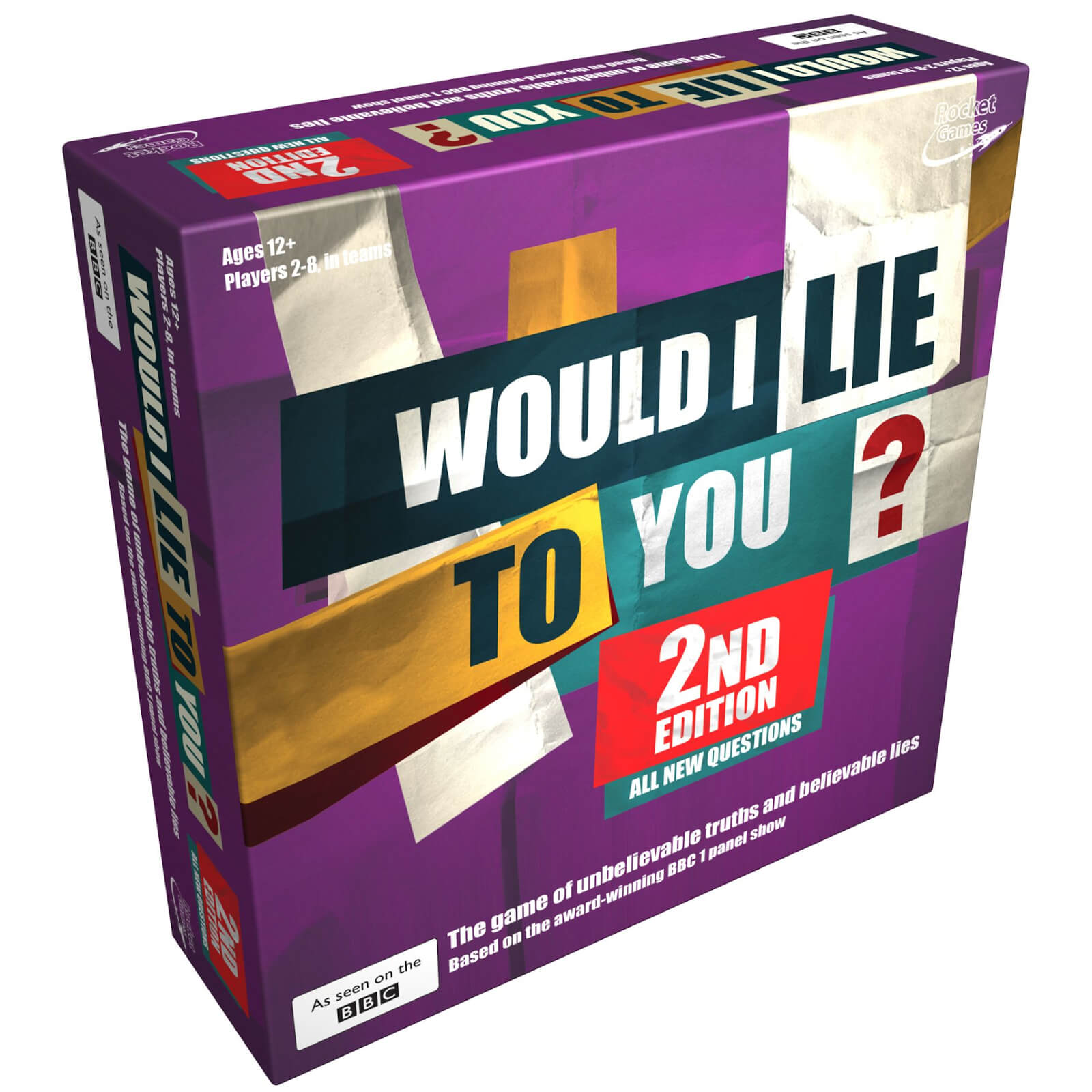 Image of Would I Lie To You 2nd Edition Board Game