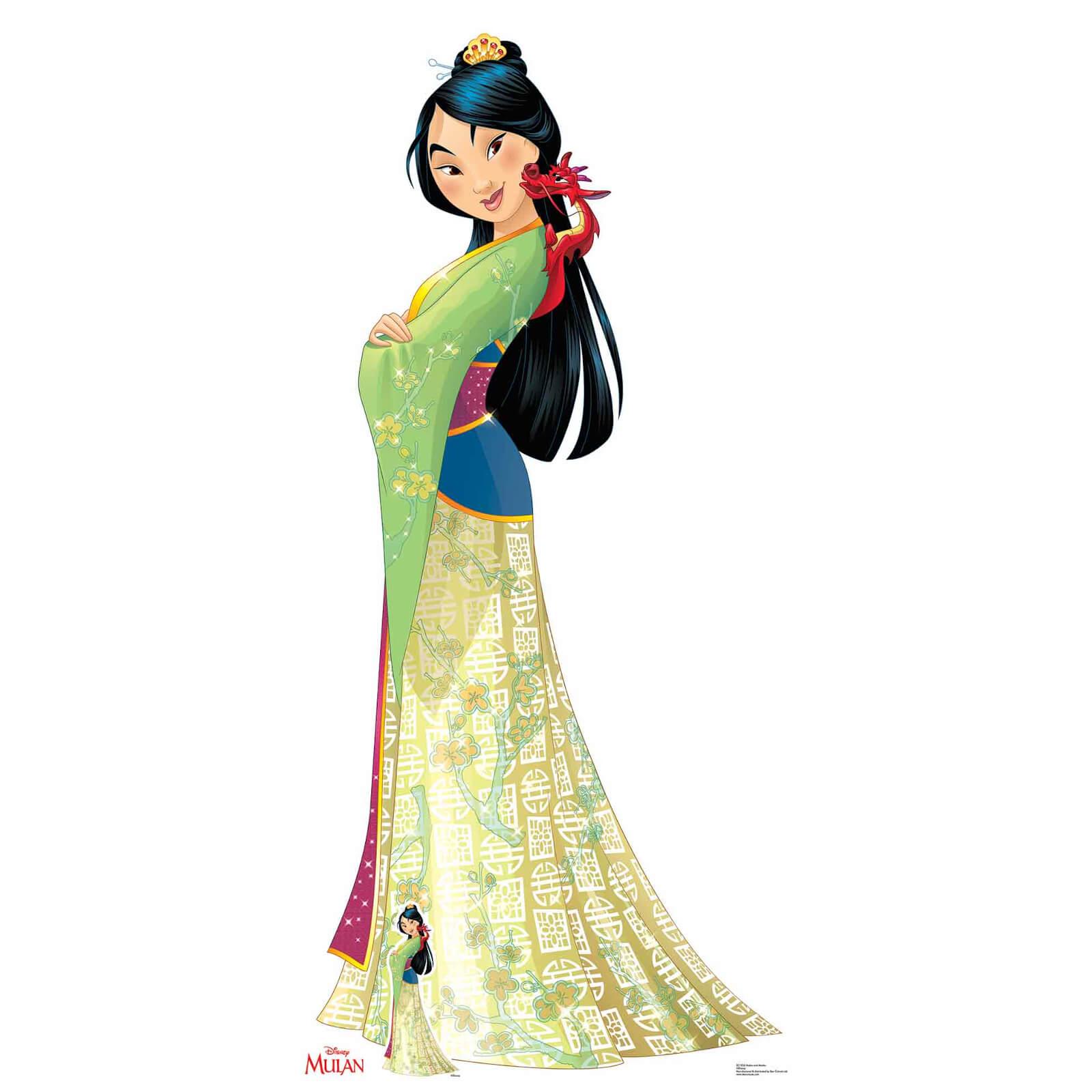 Image of Disney Mulan Mushu Lifesized Cardboard Cut Out