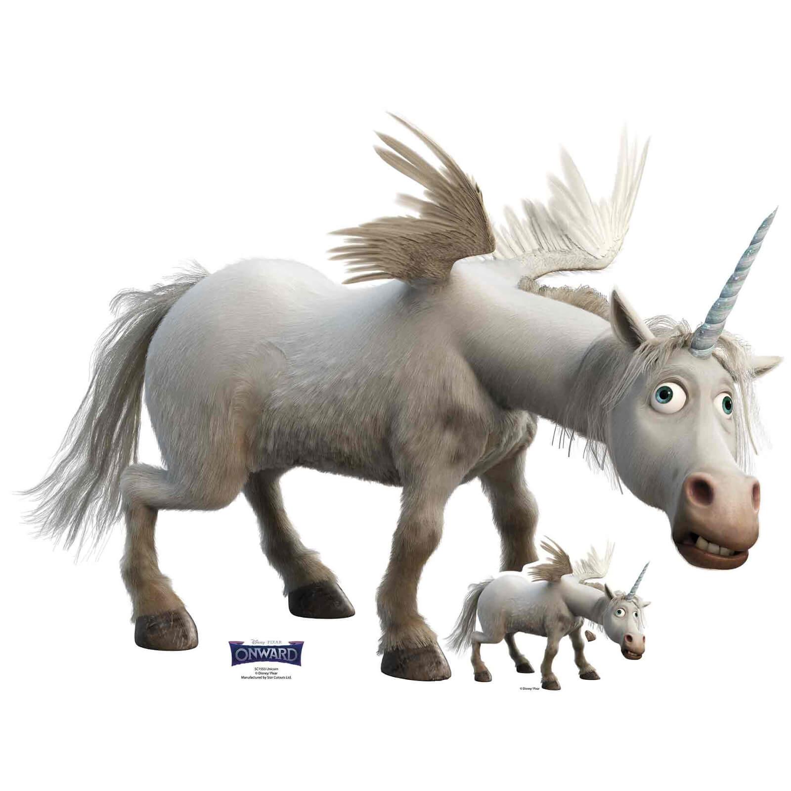 Image of Onward Unicorn Lifesized Cardboard Cut Out