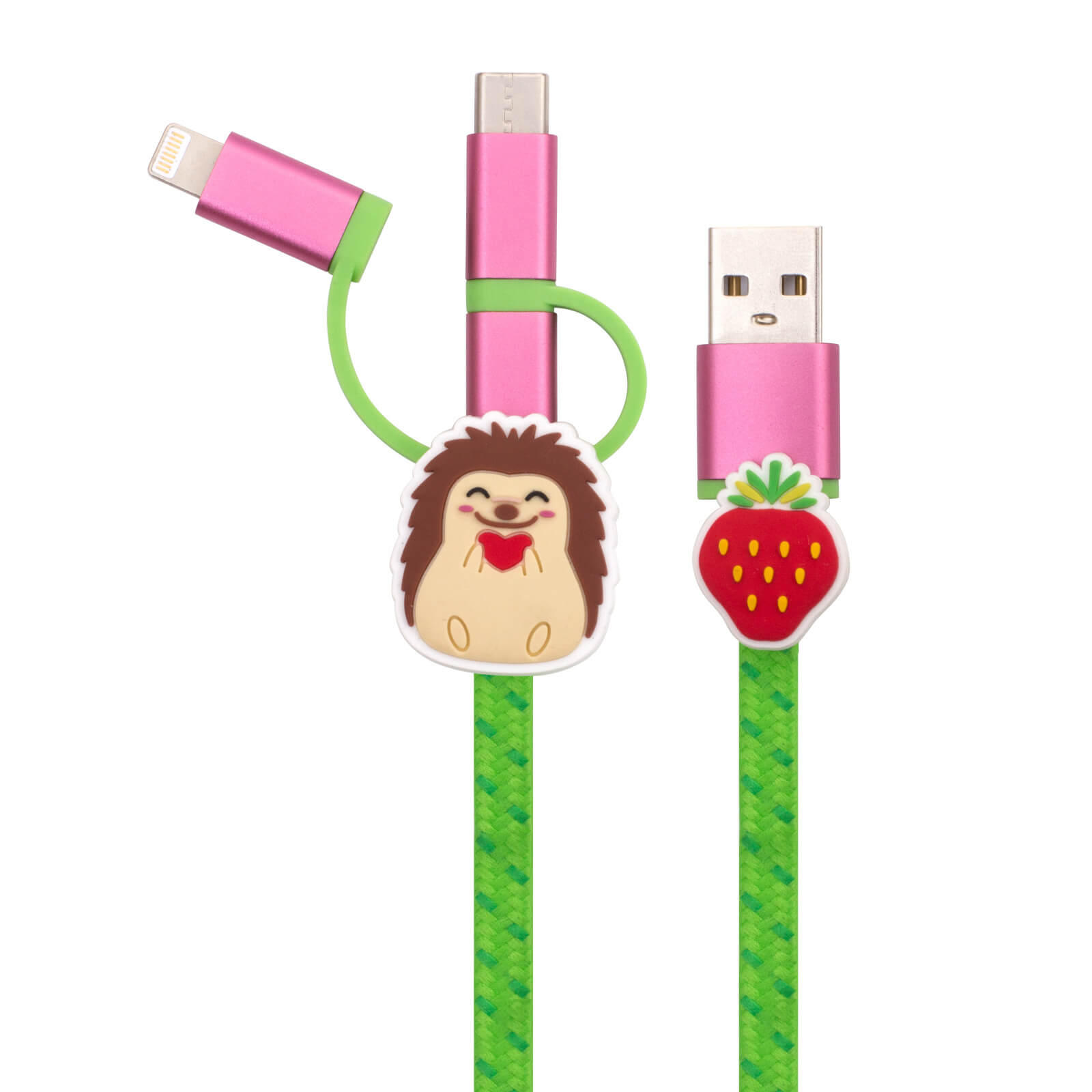 Image of Hedgehog 3-in-1 Cable